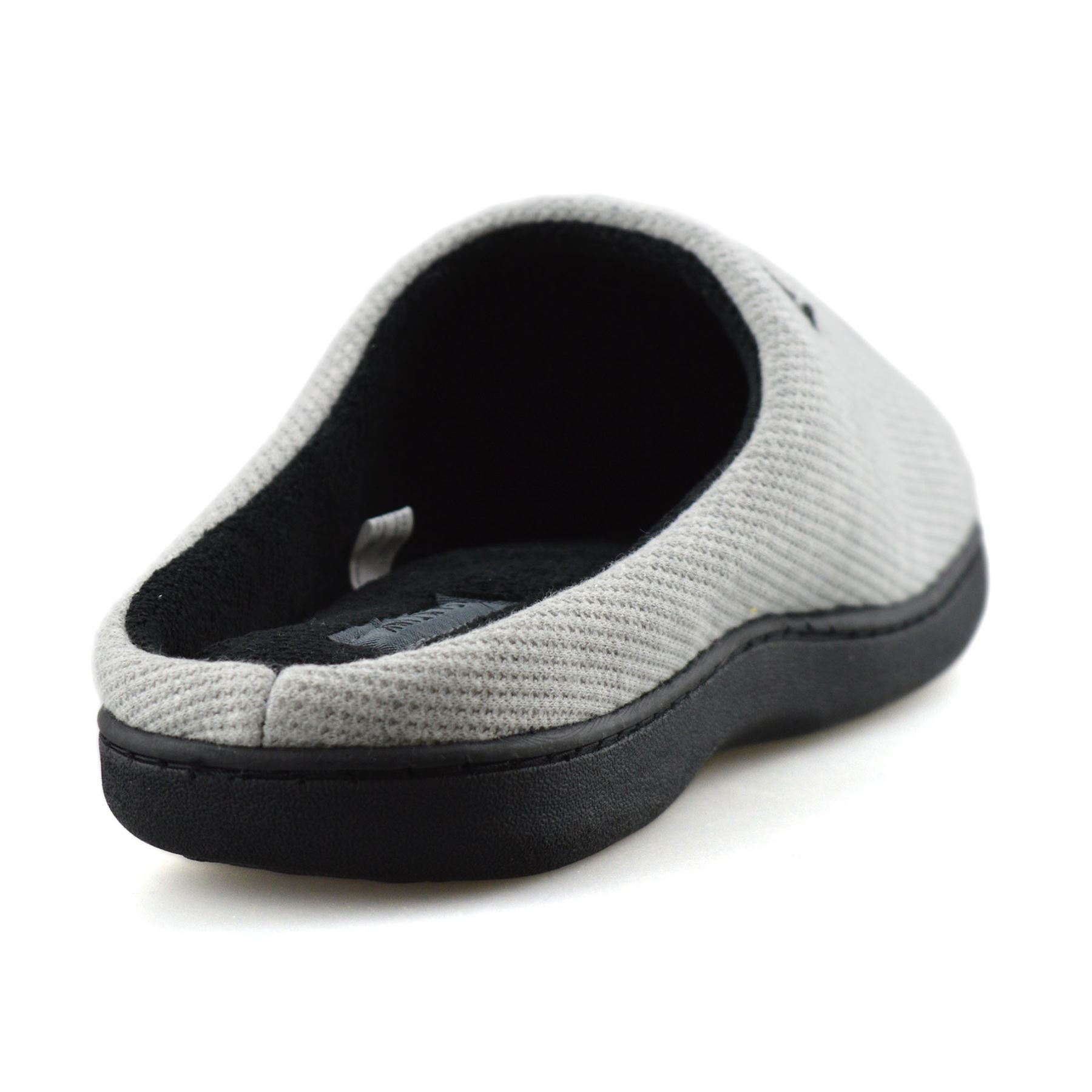 Mens-Memory-Foam-Warm-Fleece-Lined-Cotton-Slippers-Slip-On-Clog-Mules-Shoes-Size thumbnail 30