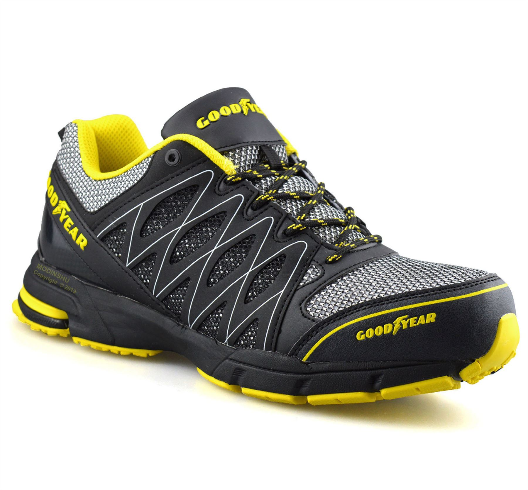 Mens-Goodyear-Safety-Steel-Toe-Cap-Work-Ankle-Hiker-Boots-Trainers-Shoes-Size thumbnail 8