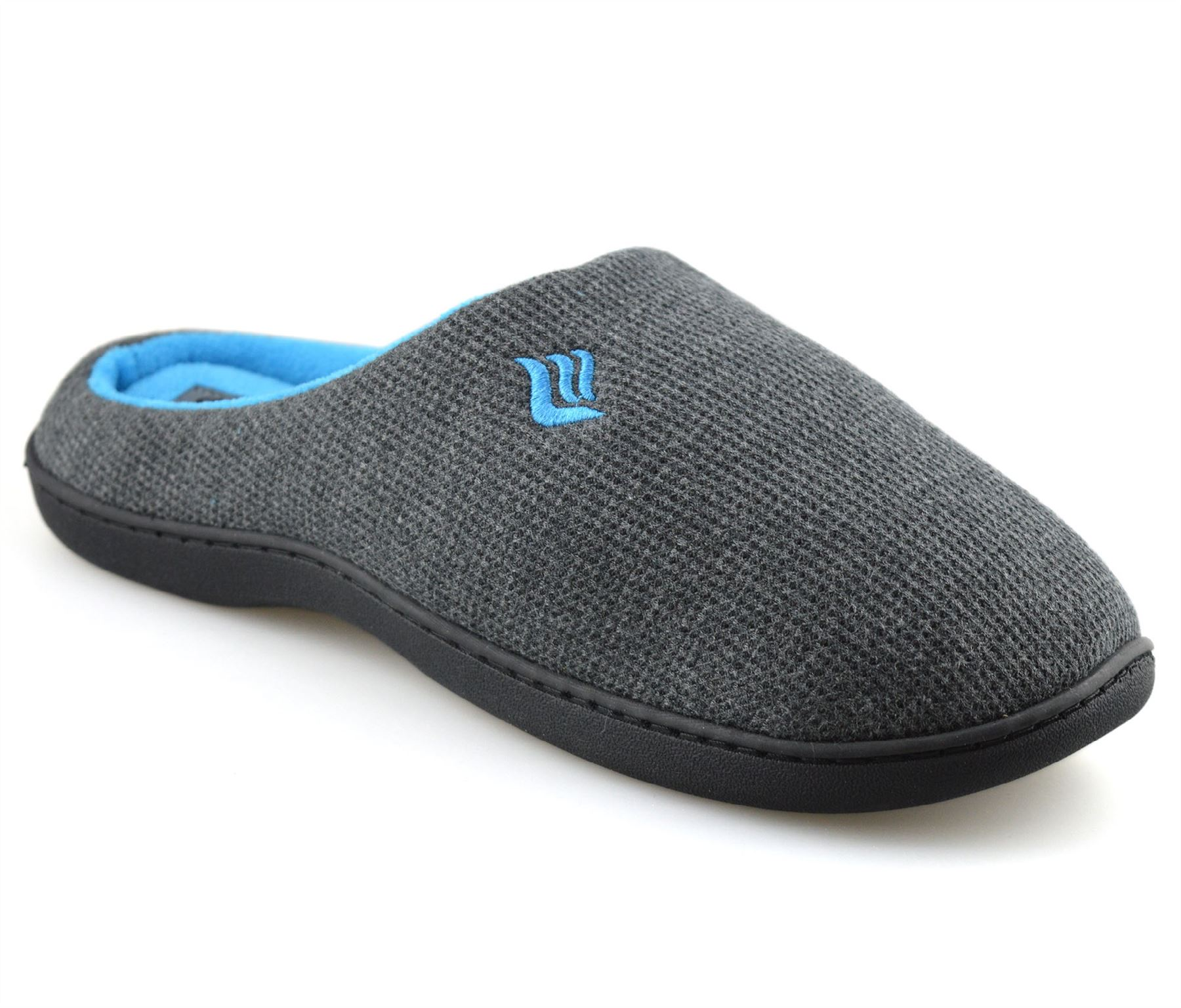 Mens-Memory-Foam-Warm-Fleece-Lined-Cotton-Slippers-Slip-On-Clog-Mules-Shoes-Size thumbnail 20