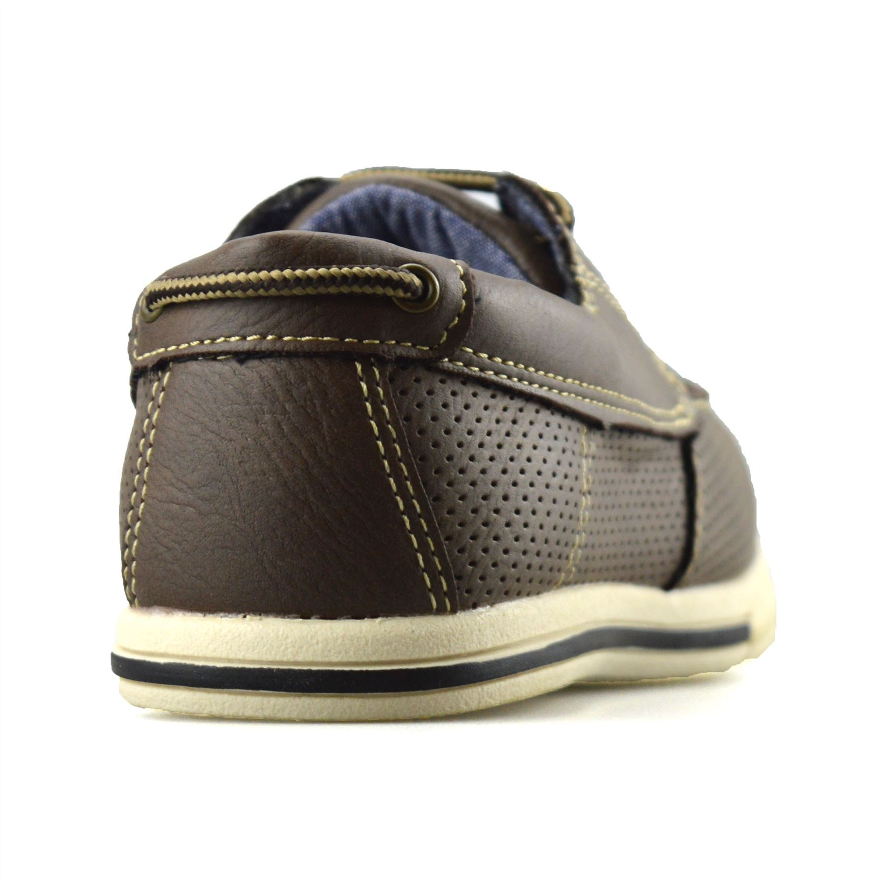 Boys-Kids-Casual-Summer-Lace-Up-Smart-Walking-School-Trainers-Boat-Shoes-Size thumbnail 9