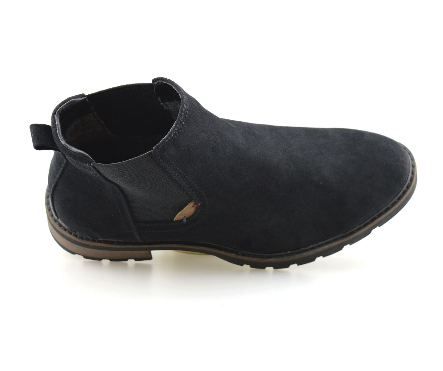 Mens-New-Smart-Formal-Chelsea-Dealer-Casual-Slip-On-Work-Ankle-Boots-Shoes-Size thumbnail 10