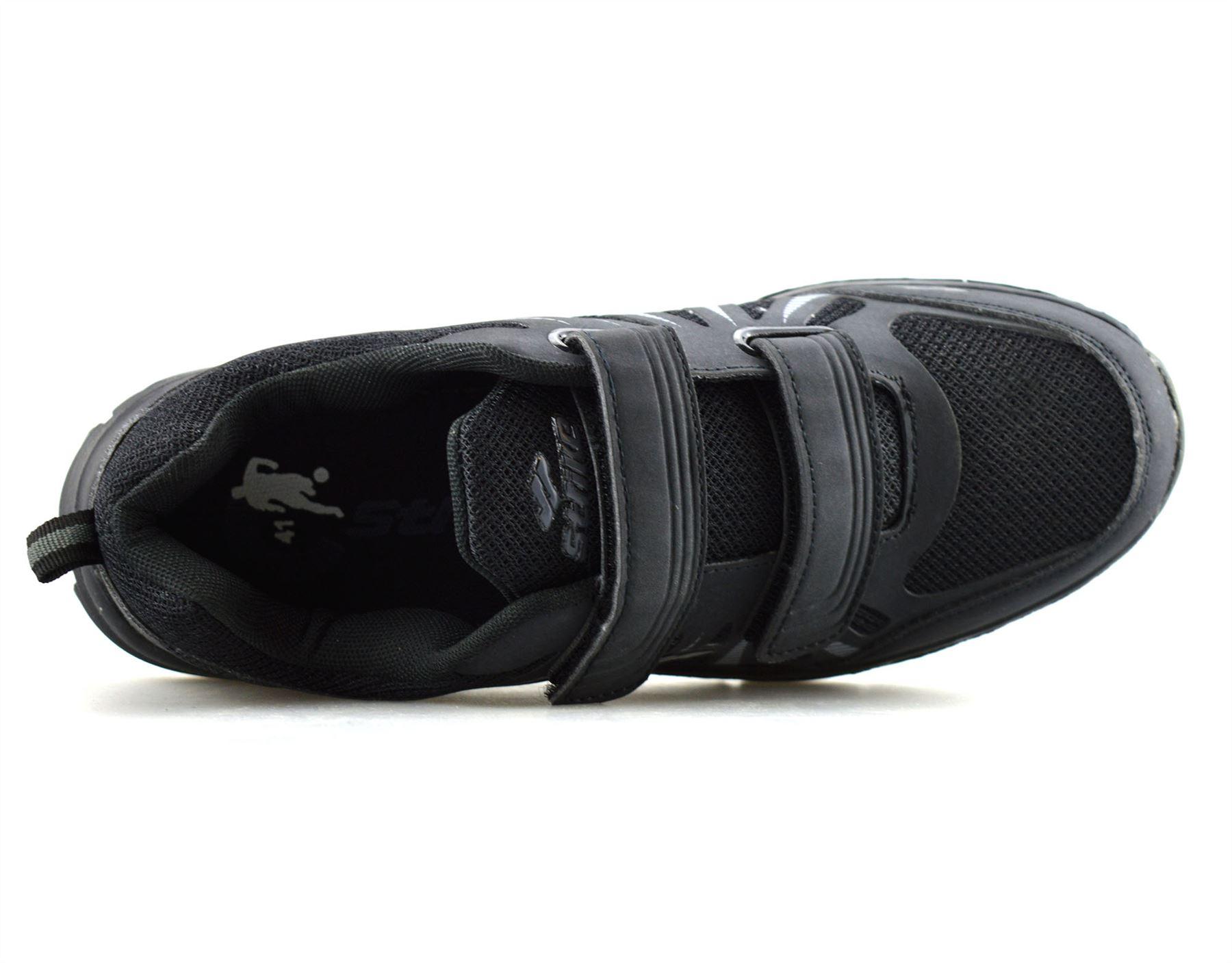 Hombre-Nuevo-Casual-Tactil-Correa-Pasear-Running-Gimnasio-Deportes-Ninos-Zapatillas-Zapatos-Talla miniatura 14