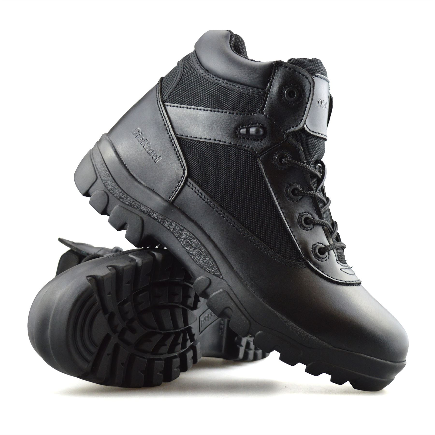 Mens-New-Leather-Military-Army-Combat-Walking-Hiking-Work-Ankle-Boots-Shoes-Size thumbnail 16