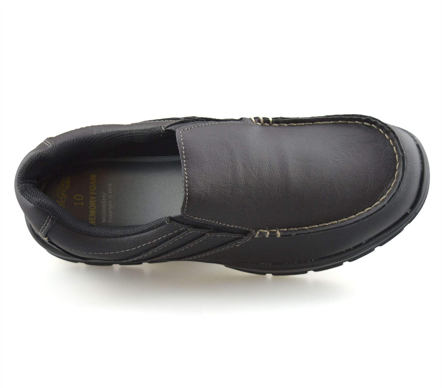 Mens-Casual-Memory-Foam-Slip-On-Walking-Moccasin-Loafers-Driving-Boat-Shoes-Size thumbnail 15