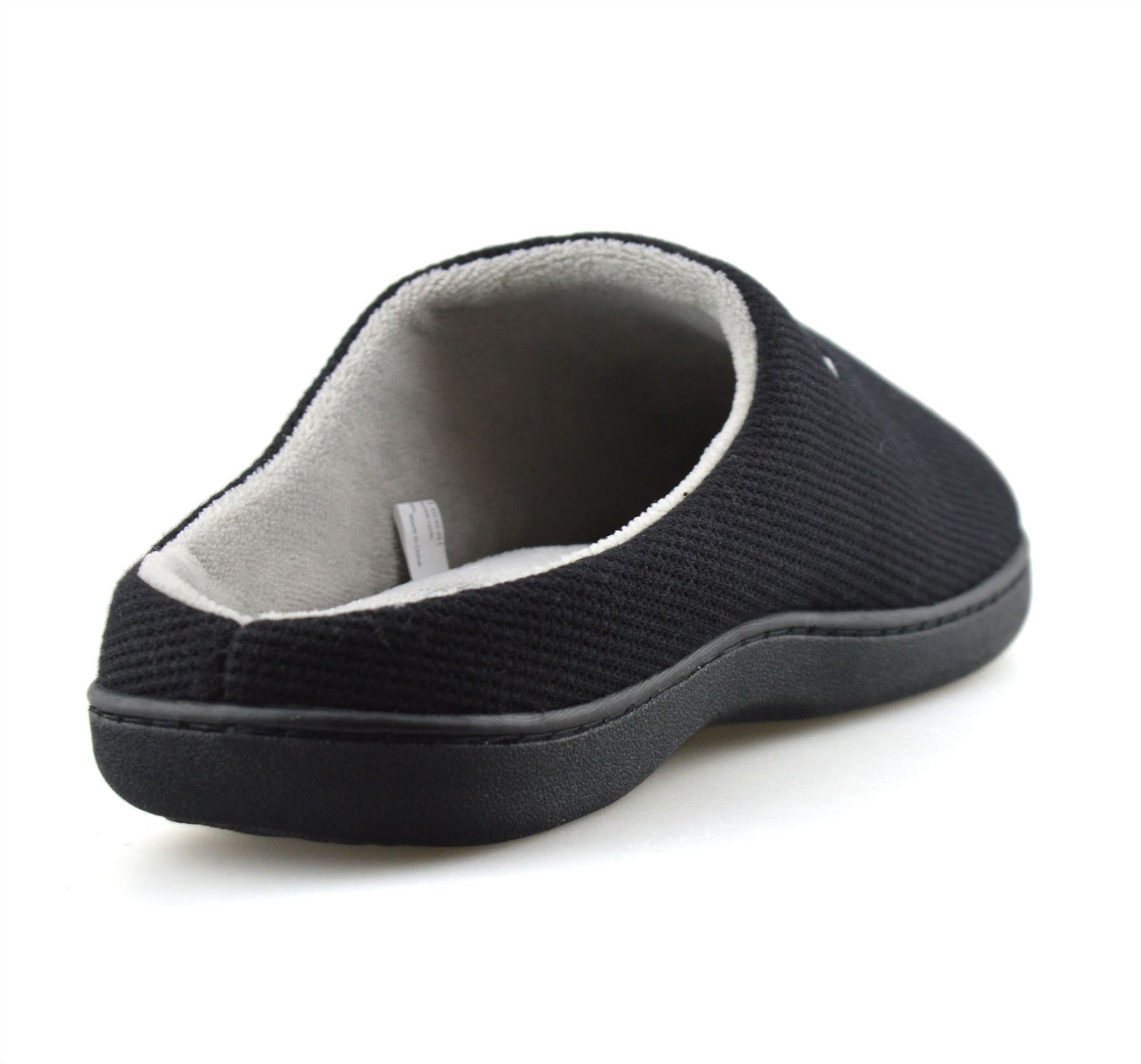 Mens-Memory-Foam-Warm-Fleece-Lined-Cotton-Slippers-Slip-On-Clog-Mules-Shoes-Size thumbnail 14