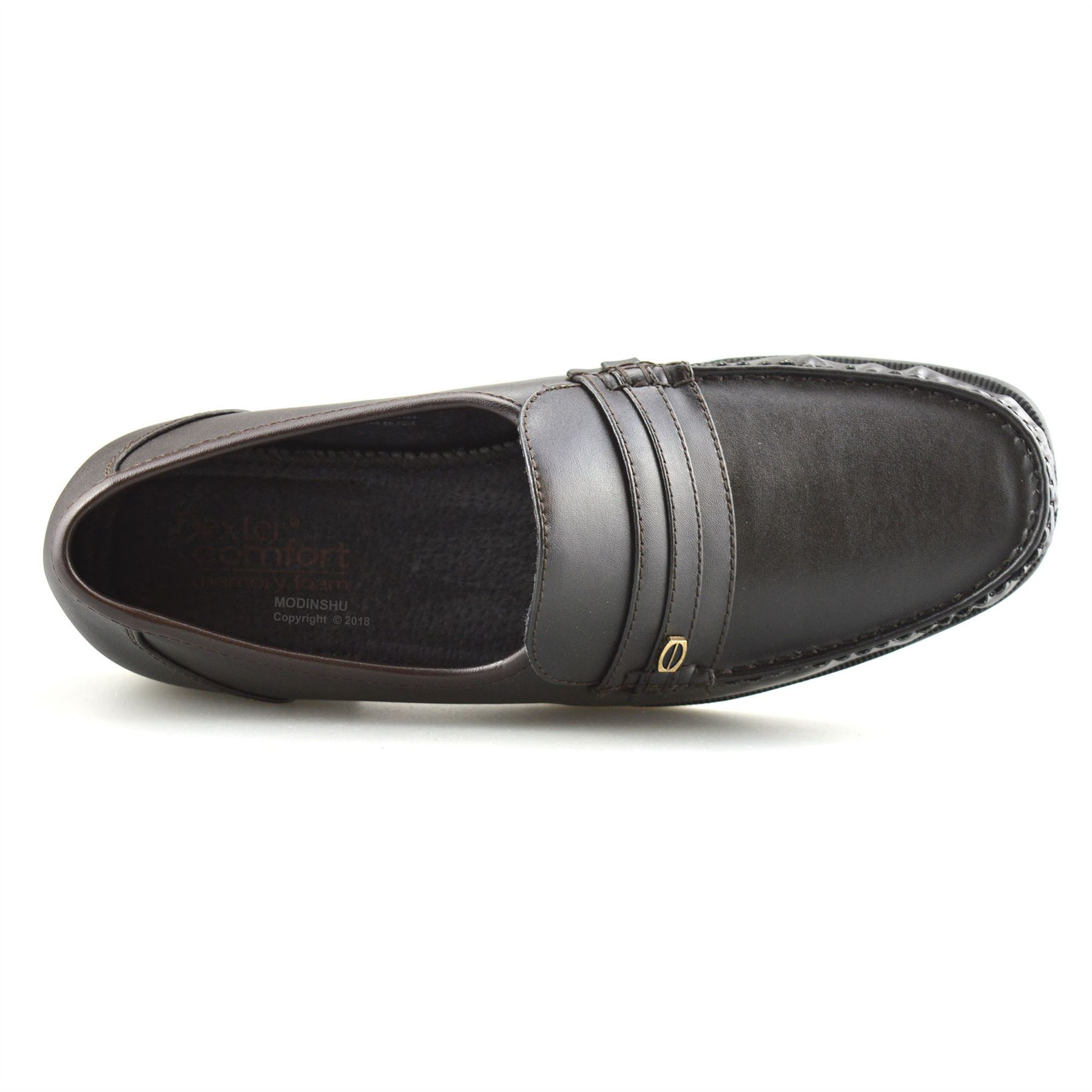 Mens-New-Slip-On-Casual-Smart-Memory-Foam-Mocassin-Designer-Loafers-Shoes-Size thumbnail 22