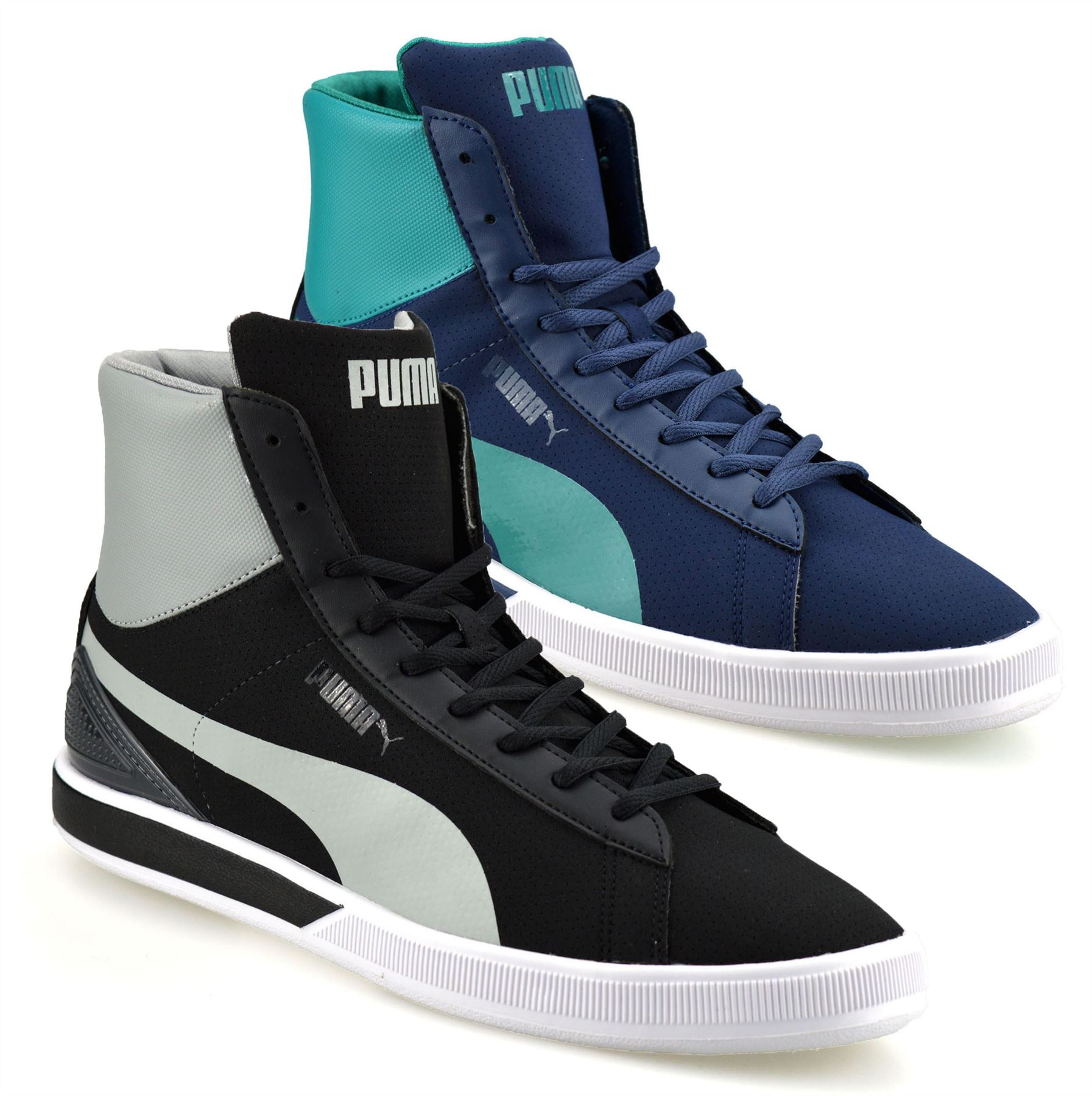 395dc891ee23 Details about Mens Puma Future Mid Ankle Boots Hi Tops Skate Basketball  Trainers Shoes Size