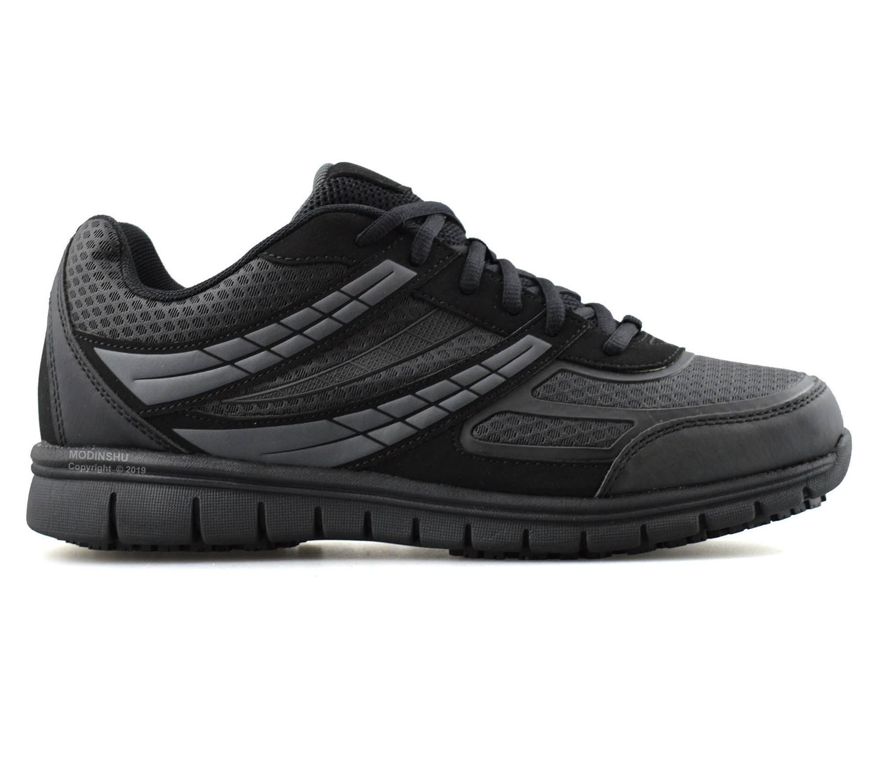 Mens-Casual-Lace-Up-Non-Slip-Memory-Foam-Walking-Hiking-Work-Trainers-Shoes-Size thumbnail 11
