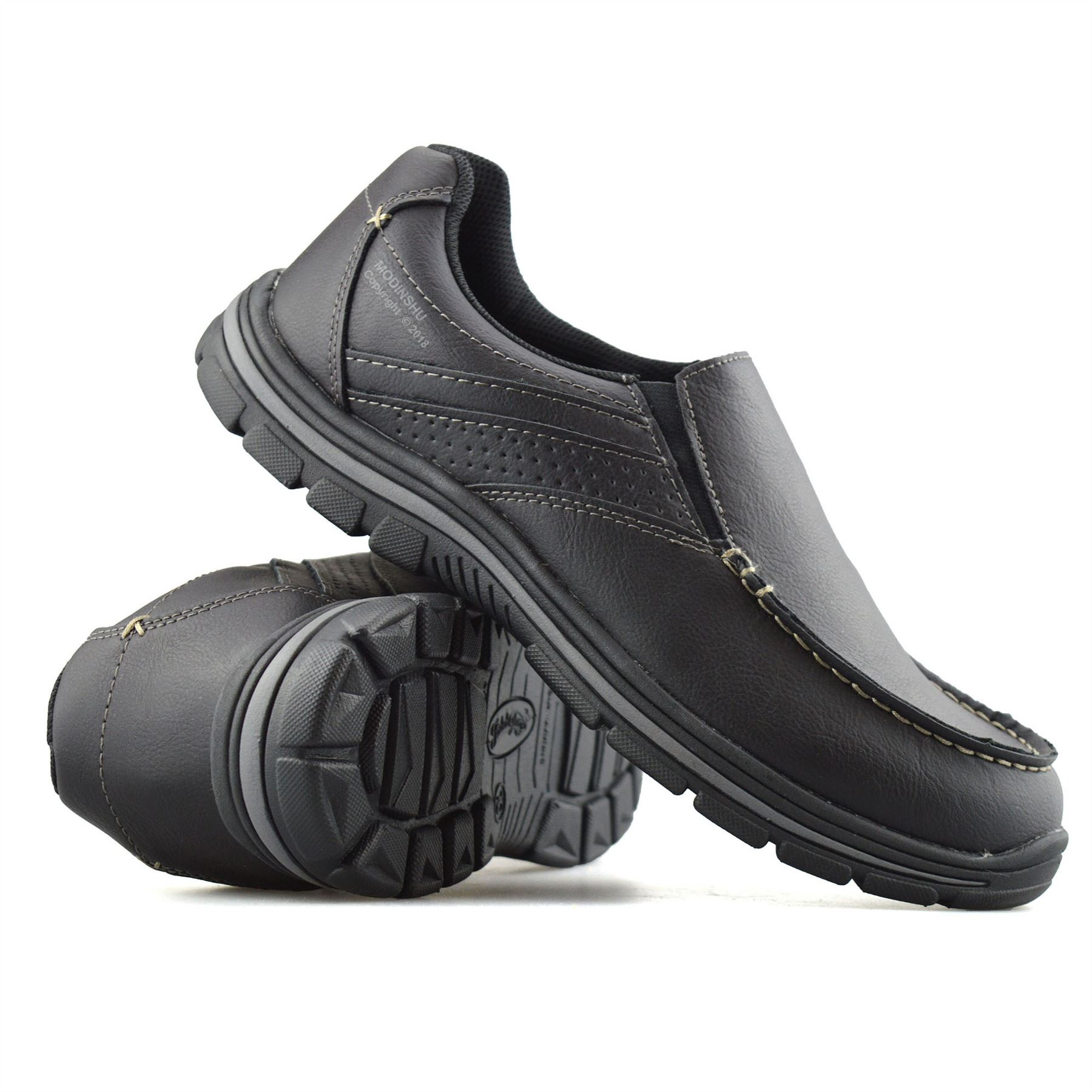 Mens-Casual-Memory-Foam-Slip-On-Walking-Moccasin-Loafers-Driving-Boat-Shoes-Size thumbnail 17