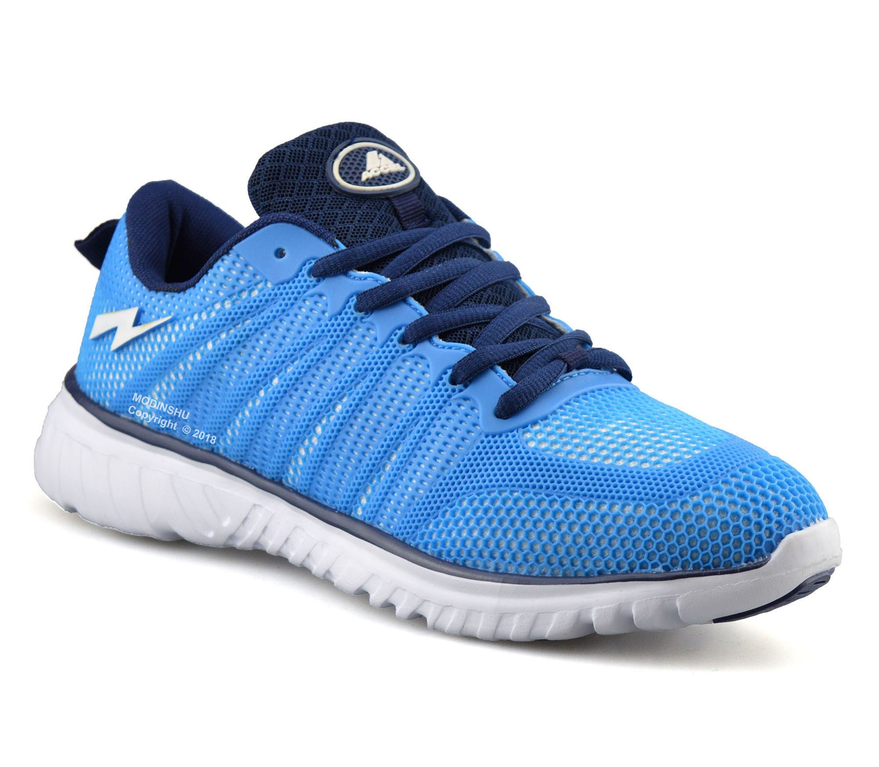 Mens-Casual-Running-Walking-Sports-Gym-Shock-Absorbing-Lace-Trainers-Shoes-Size thumbnail 14