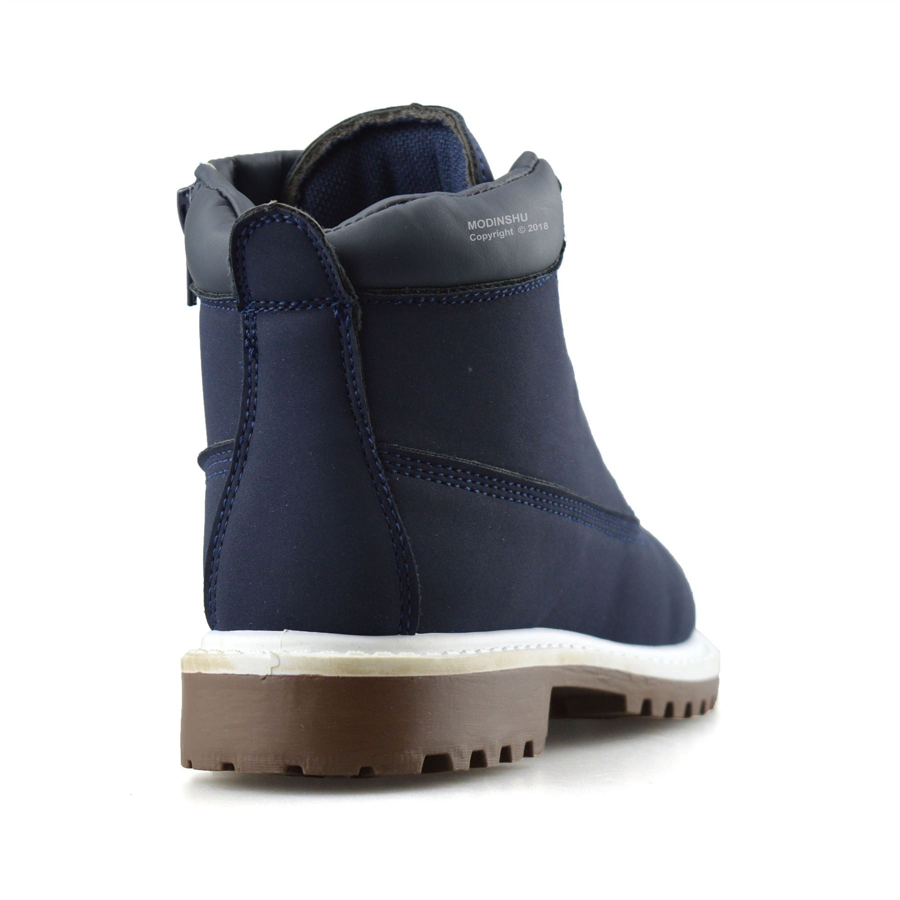 Boys-Kids-New-Casual-Zip-Lace-Up-Winter-Walking-Ankle-Boots-Trainers-Shoes-Size thumbnail 14