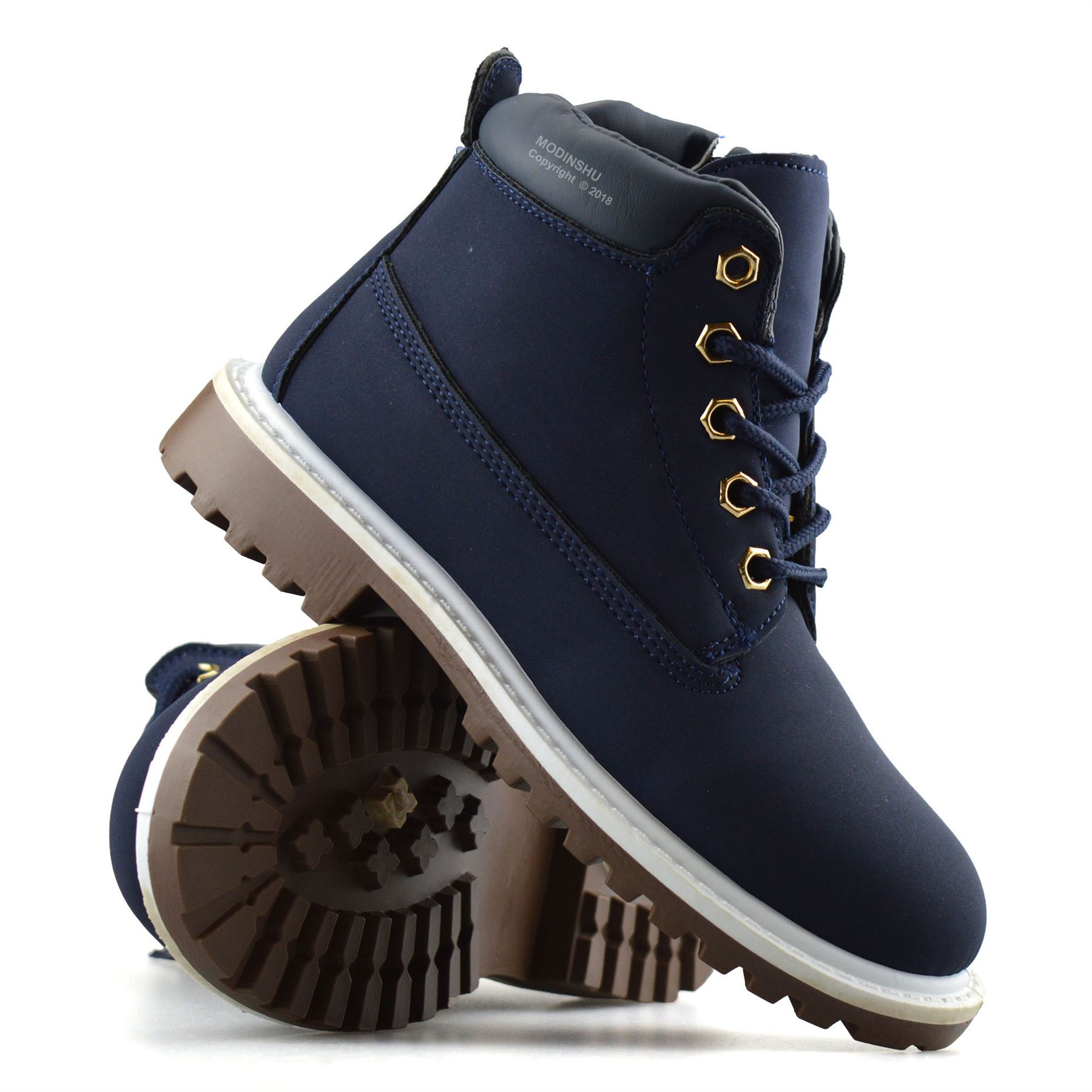 Boys-Kids-New-Casual-Zip-Lace-Up-Winter-Walking-Ankle-Boots-Trainers-Shoes-Size thumbnail 17