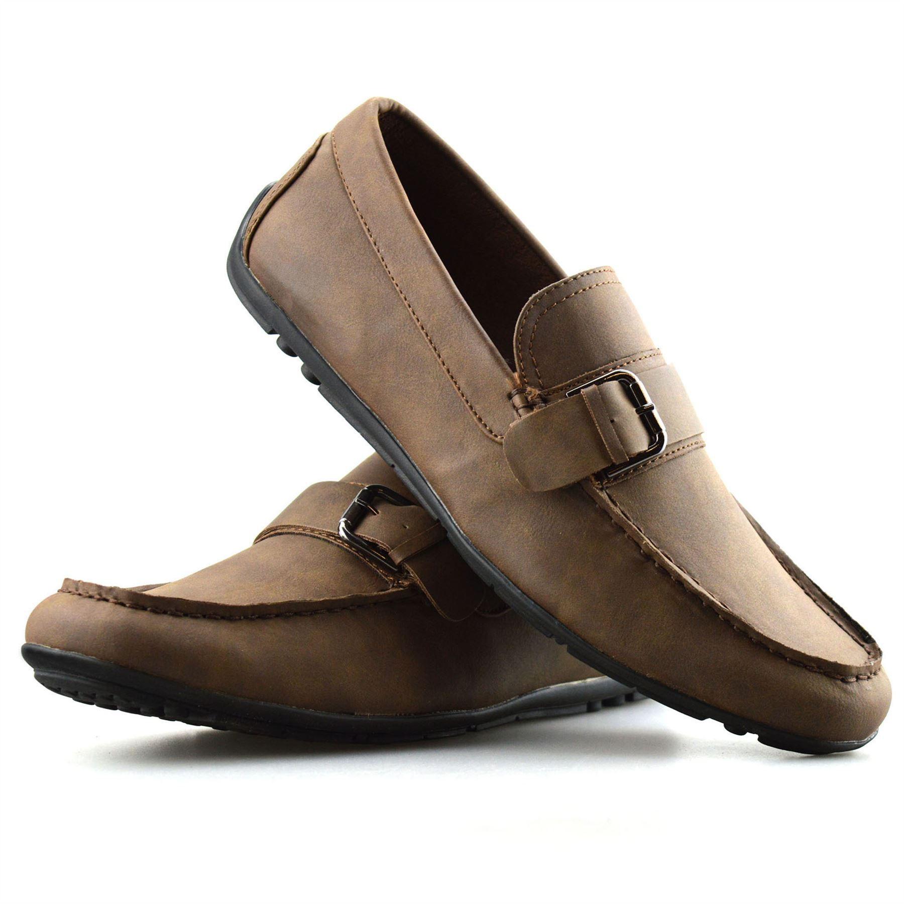 Mens-New-Slip-On-Boat-Deck-Casual-Mocassin-Designer-Loafers-Driving-Shoes-Size thumbnail 20