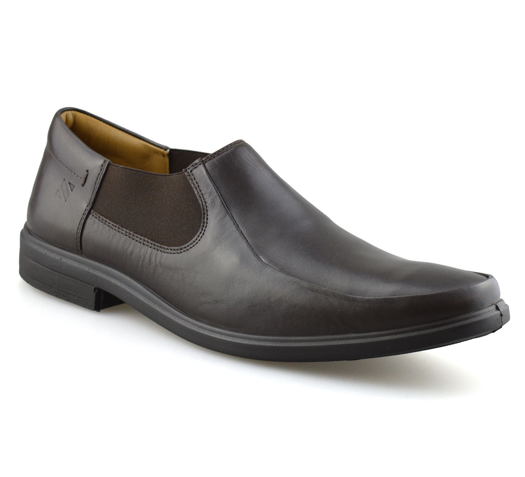 Mens-Leather-Slip-On-Casual-Smart-Designer-Mocassin-Work-Loafers-Shoes-Size thumbnail 8
