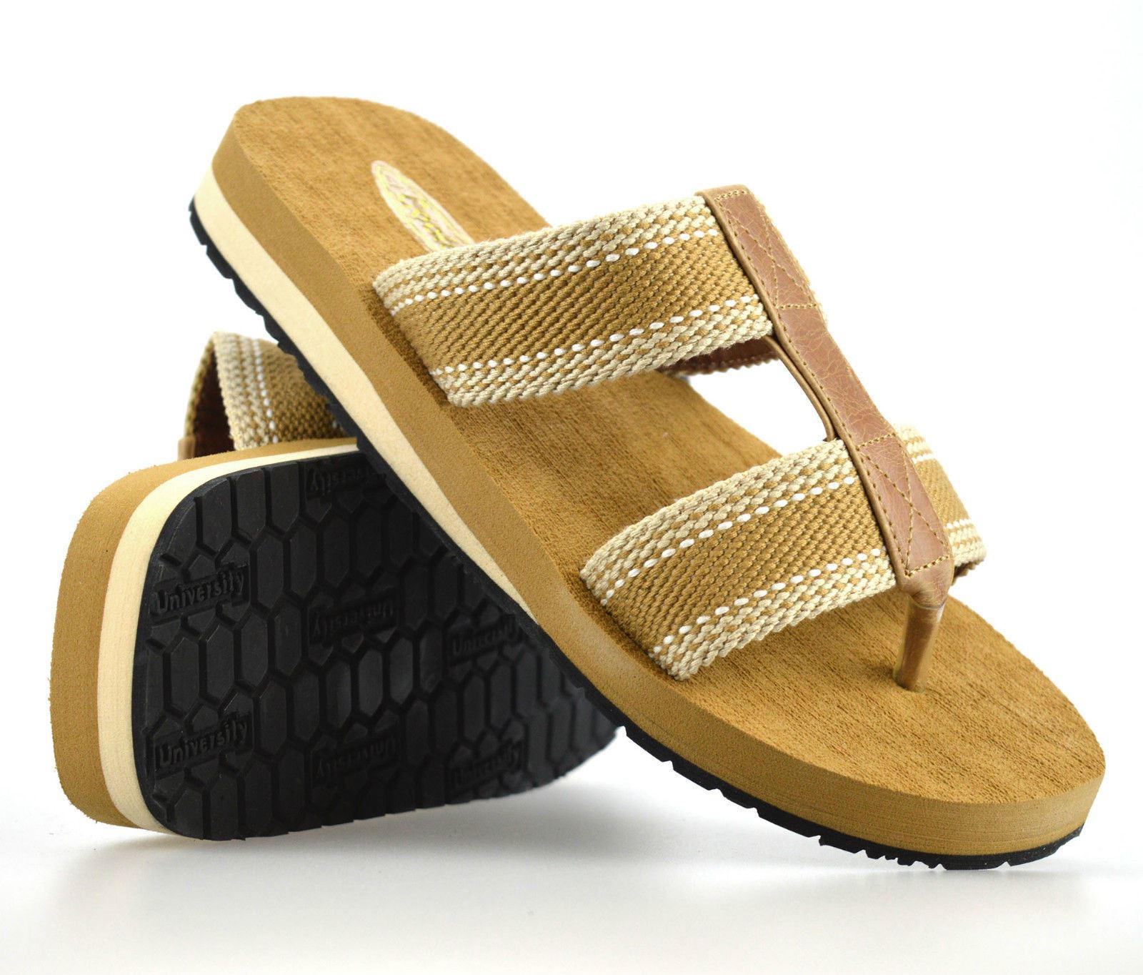 fa1e11e9ece Details about Mens Gladiator Sandals Summer Beach Cushioned Walking Flip  Flop Mules Shoe Size