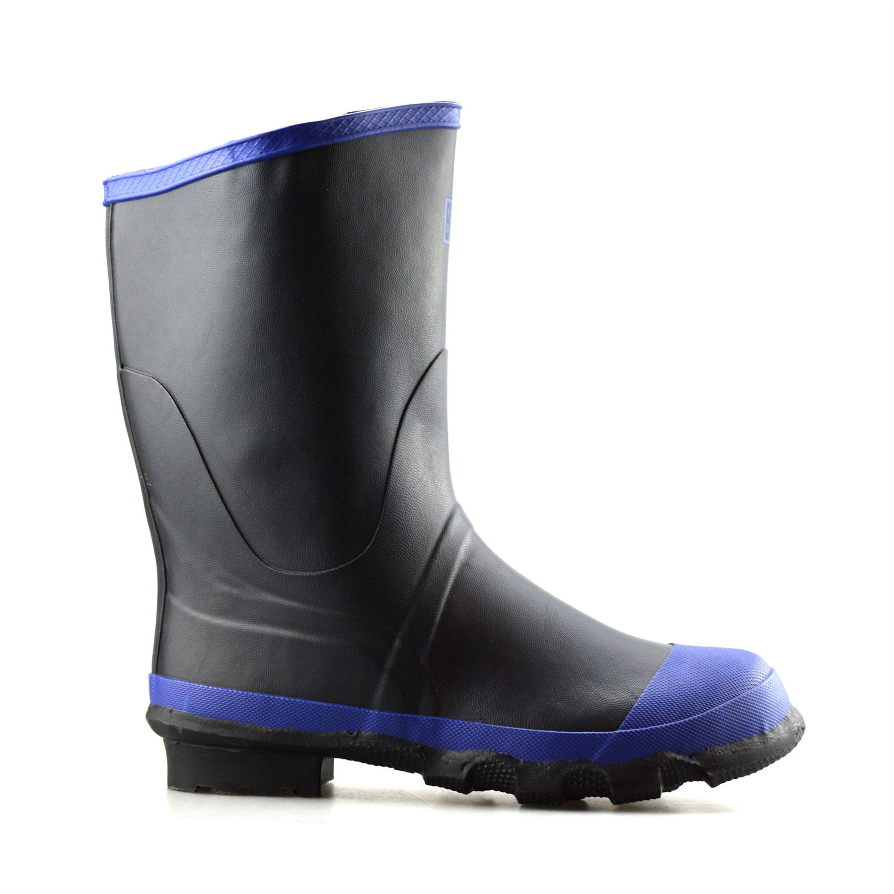 Mens Rubber Waterproof Wellington Snow Ski Hiking Mucker ...
