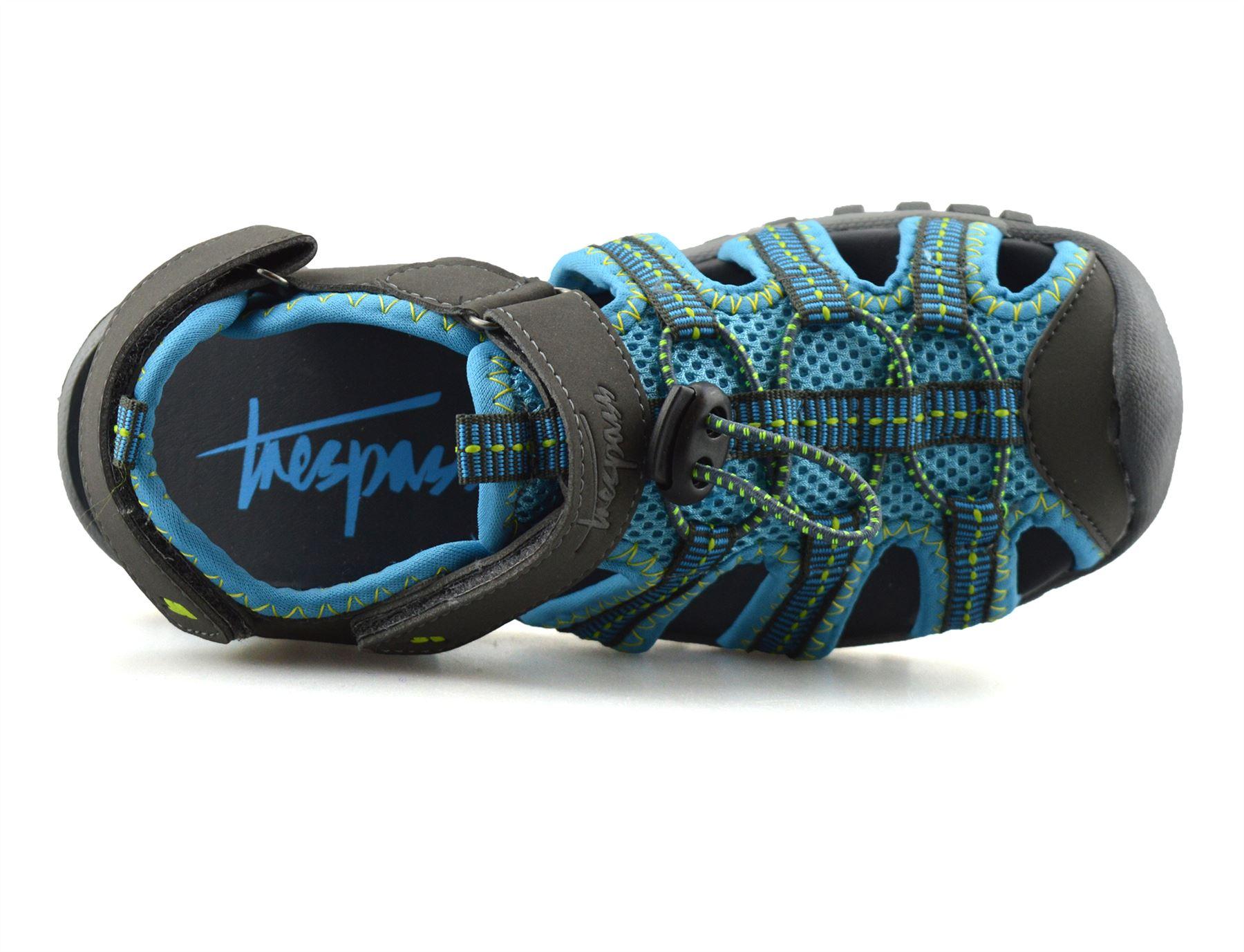 Boys-Girls-Kids-Trespass-Summer-Beach-Casual-Walking-Sports-Sandals-Shoes-Size thumbnail 25