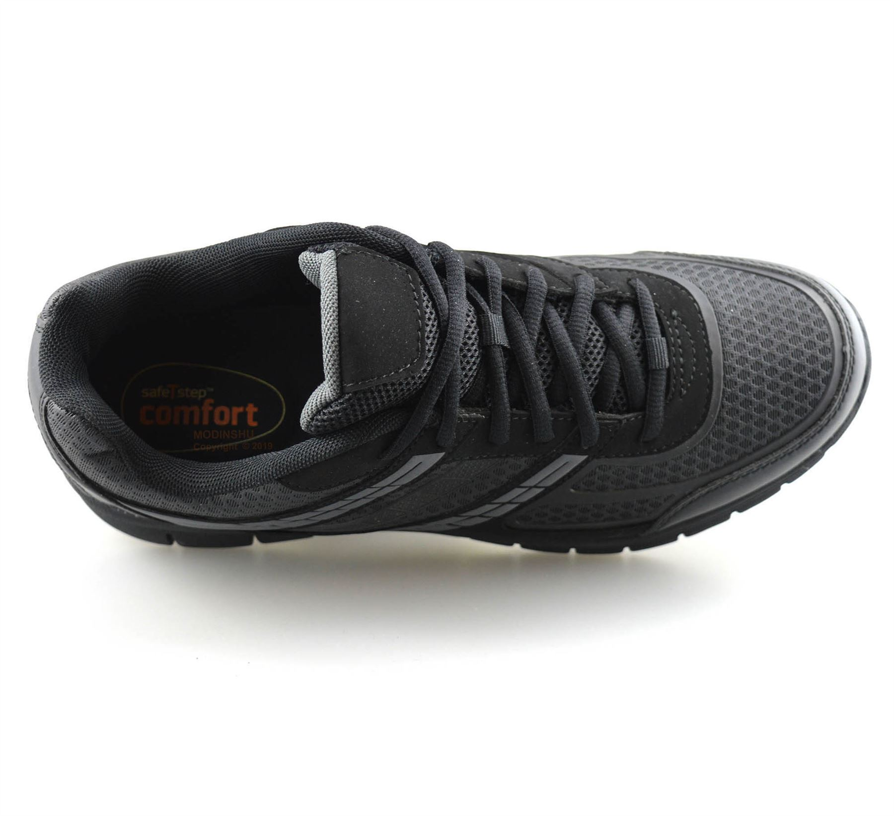 Mens-Casual-Lace-Up-Non-Slip-Memory-Foam-Walking-Hiking-Work-Trainers-Shoes-Size thumbnail 14