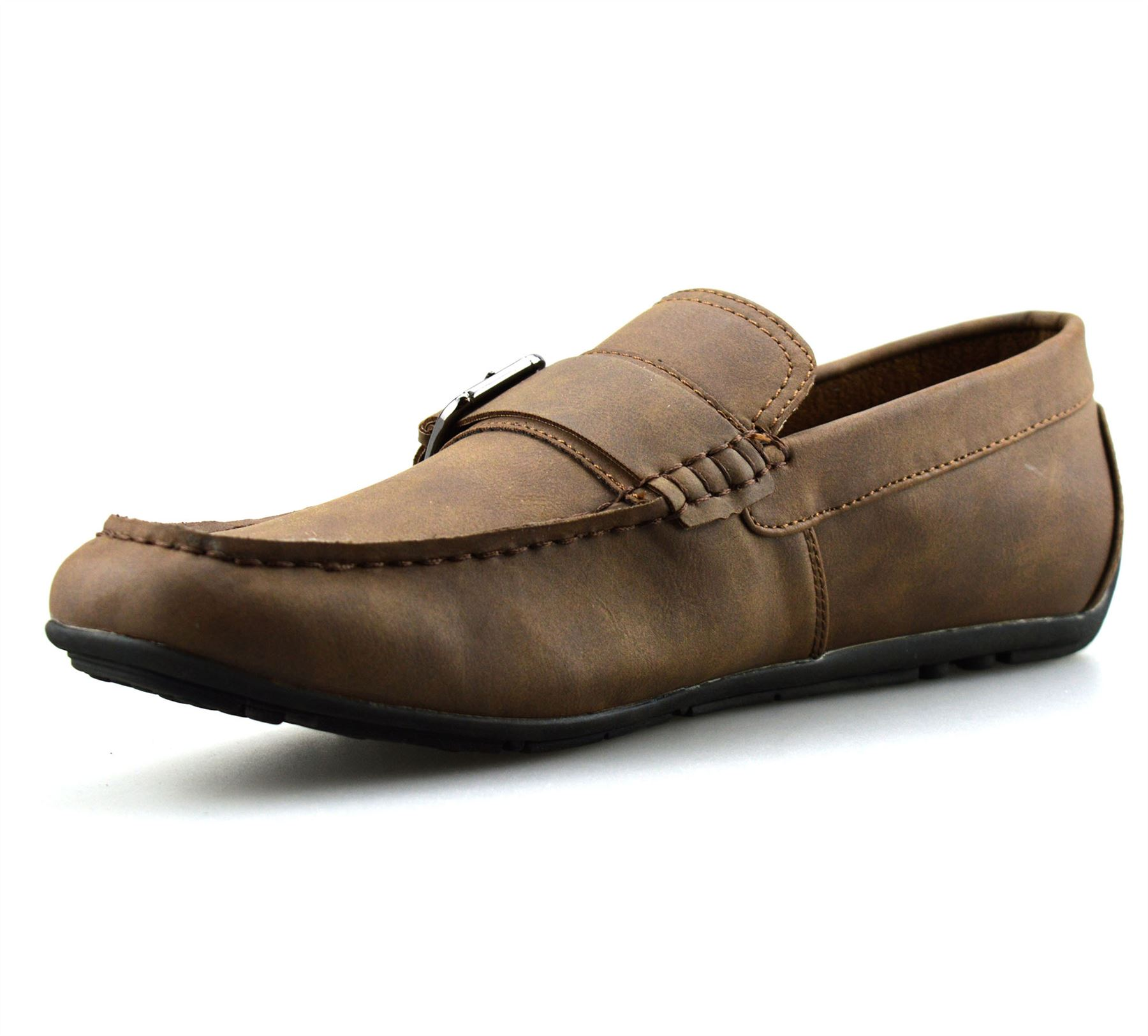 Mens-New-Slip-On-Boat-Deck-Casual-Mocassin-Designer-Loafers-Driving-Shoes-Size thumbnail 15