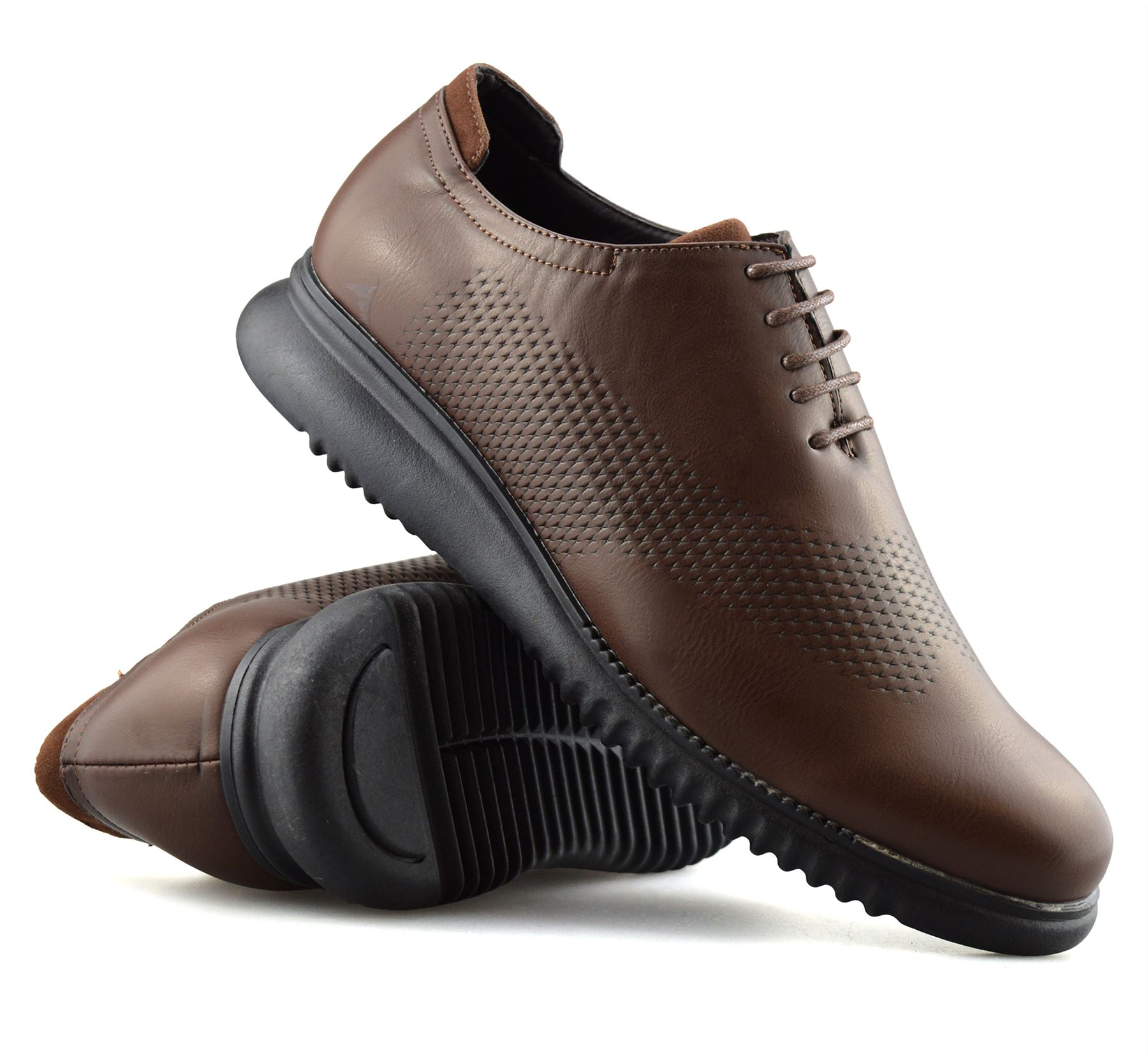 Mens-Casual-Smart-Lace-Up-Oxford-Brogue-Walking-Work-Office-Trainers-Shoes-Size thumbnail 23