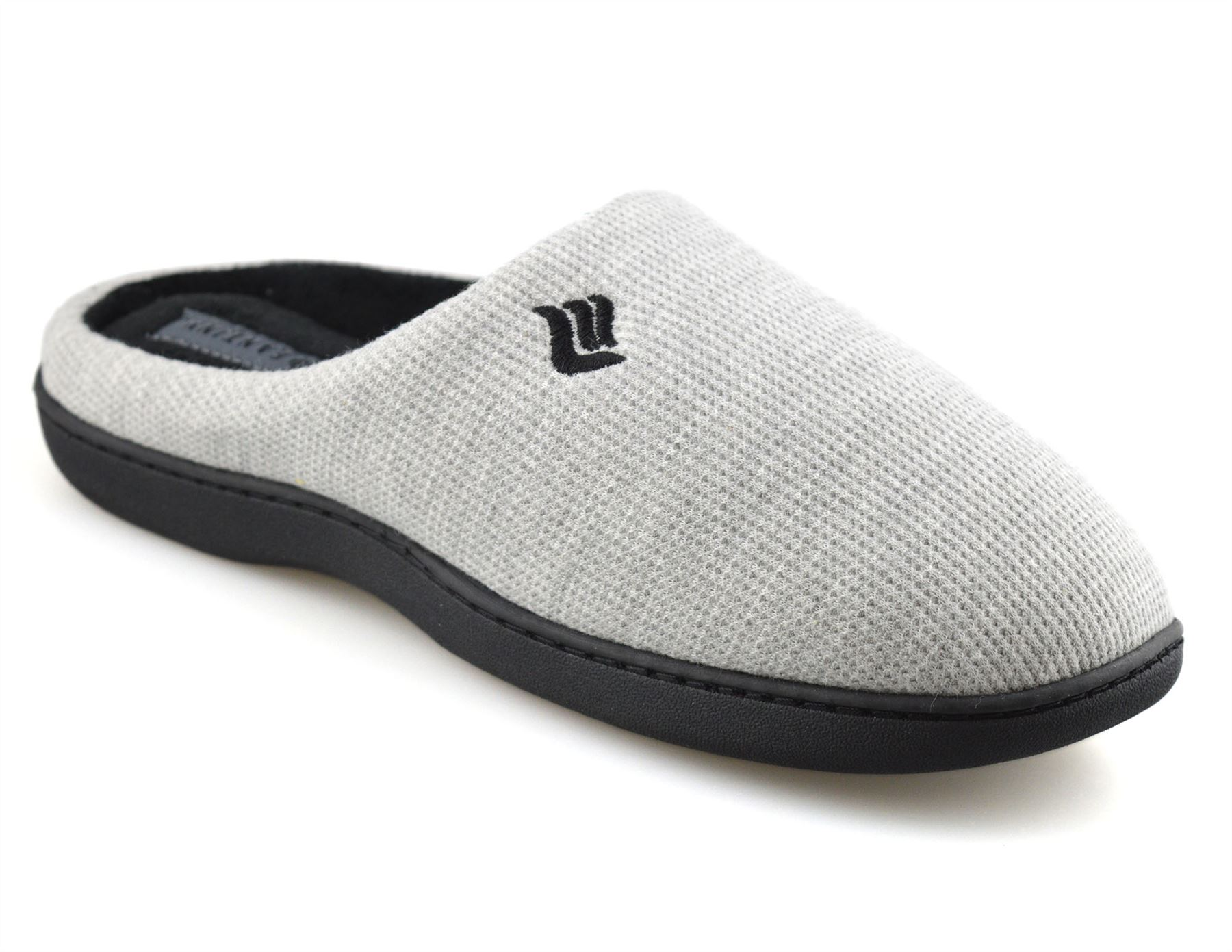Mens-Memory-Foam-Warm-Fleece-Lined-Cotton-Slippers-Slip-On-Clog-Mules-Shoes-Size thumbnail 28