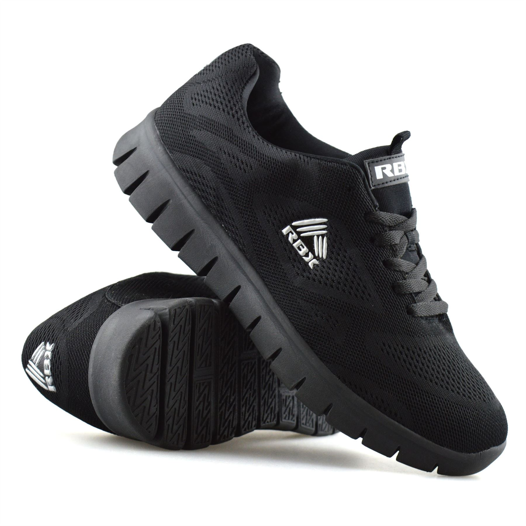 New Trainers Lace Up Running Casual Sports Mens Shoes Light weight Memory Foam