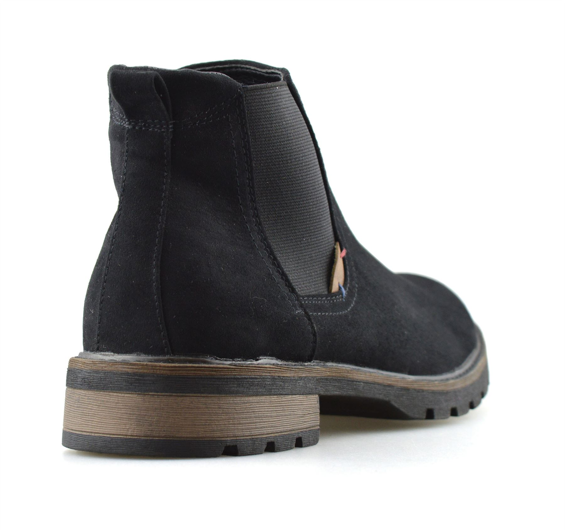 Mens-New-Smart-Formal-Chelsea-Dealer-Casual-Slip-On-Work-Ankle-Boots-Shoes-Size thumbnail 9