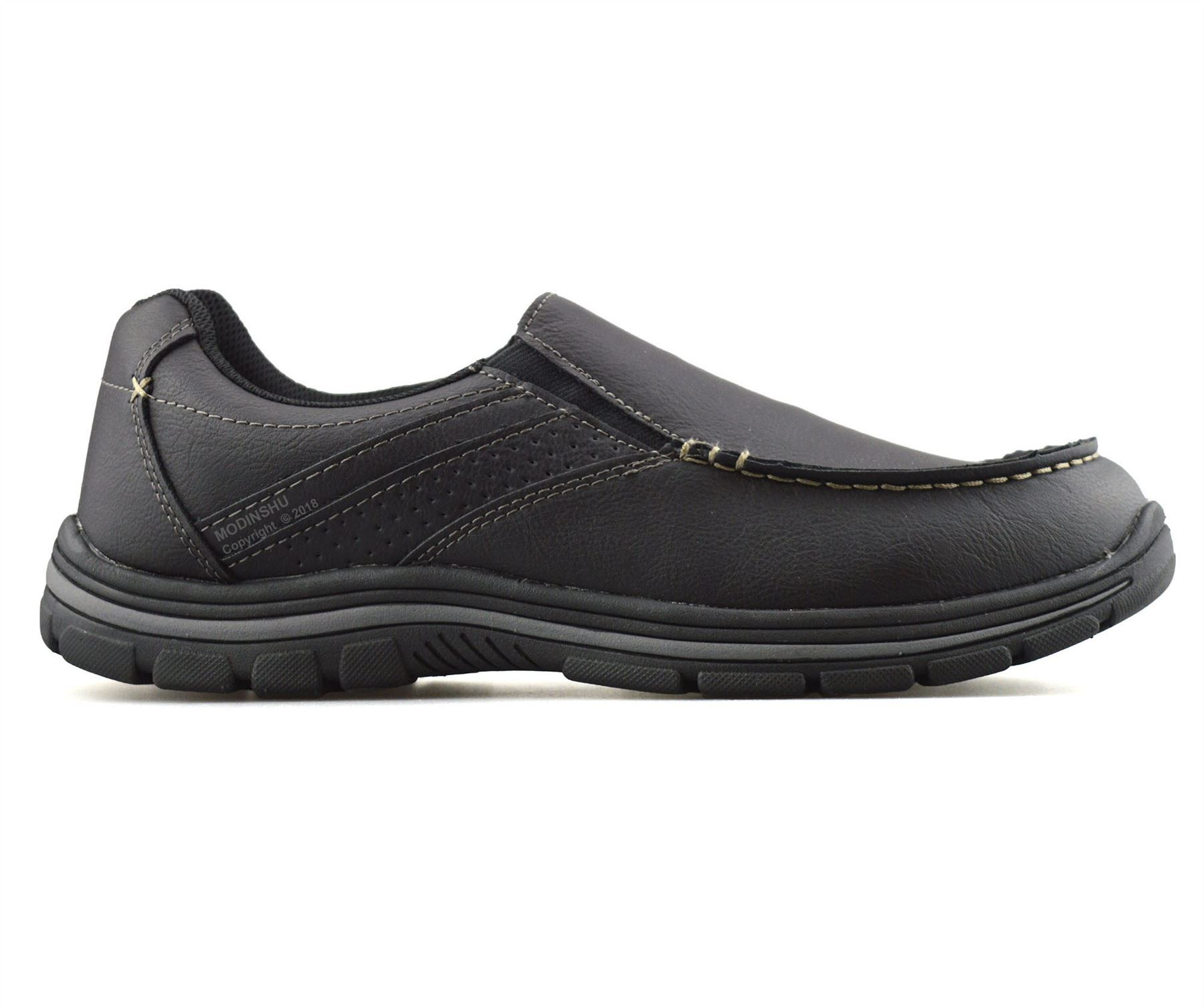 Mens-Casual-Memory-Foam-Slip-On-Walking-Moccasin-Loafers-Driving-Boat-Shoes-Size thumbnail 13