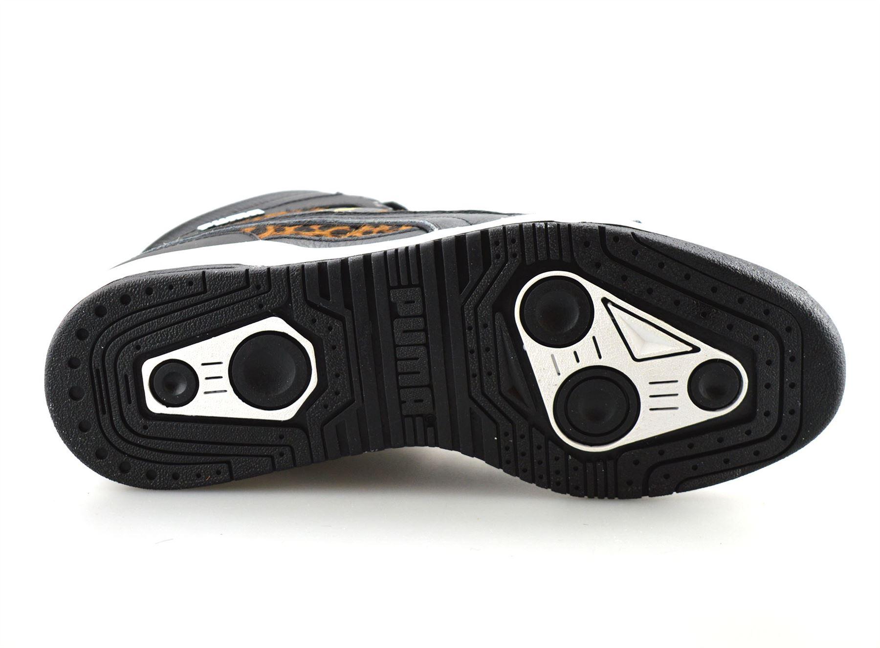 Détails sur Puma Slipstream pour homme en cuir Hi Top Basketball Baskets Bottines Bottes Chaussures Taille afficher le titre d'origine