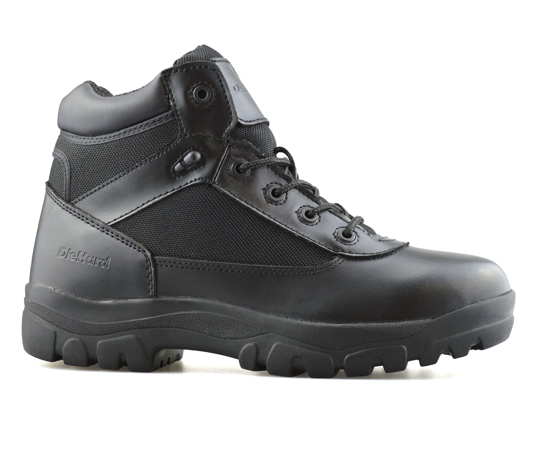 Mens-New-Leather-Military-Army-Combat-Walking-Hiking-Work-Ankle-Boots-Shoes-Size thumbnail 12