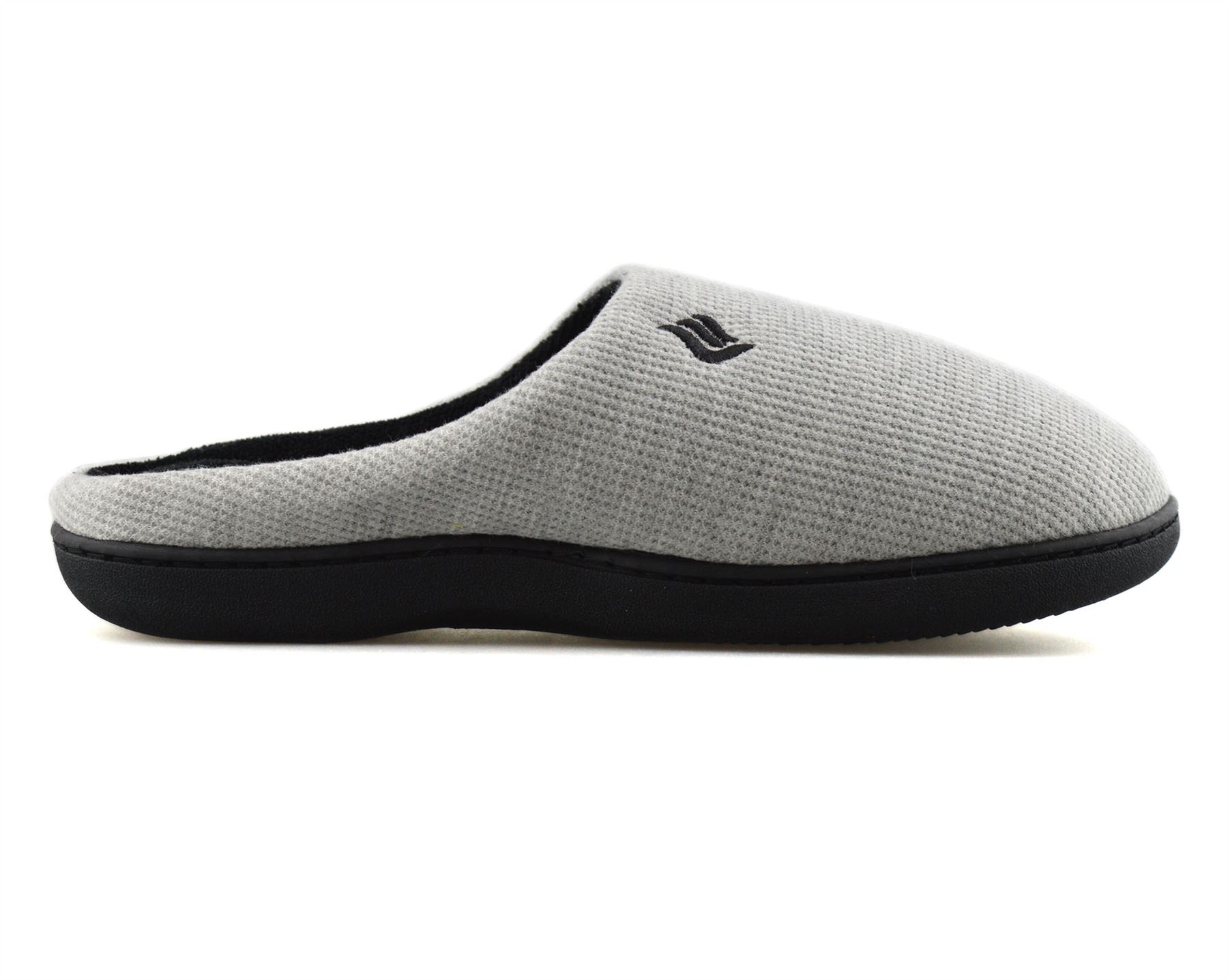 Mens-Memory-Foam-Warm-Fleece-Lined-Cotton-Slippers-Slip-On-Clog-Mules-Shoes-Size thumbnail 29