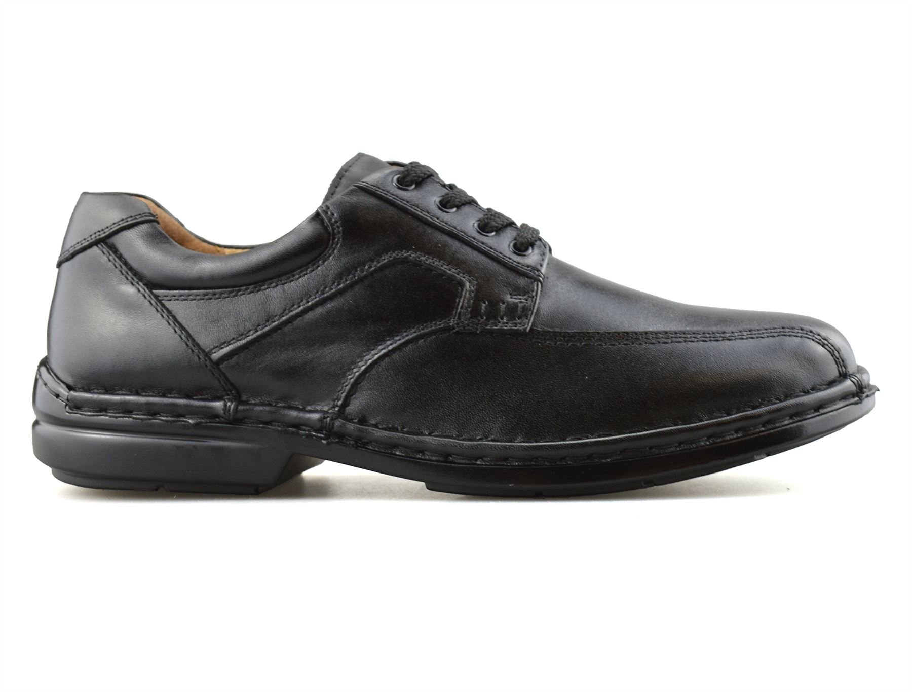 Mens-Hush-Puppies-Leather-Wide-Fit-Smart-Casual-Lace-Up-Work-Office-Shoes-Size thumbnail 10