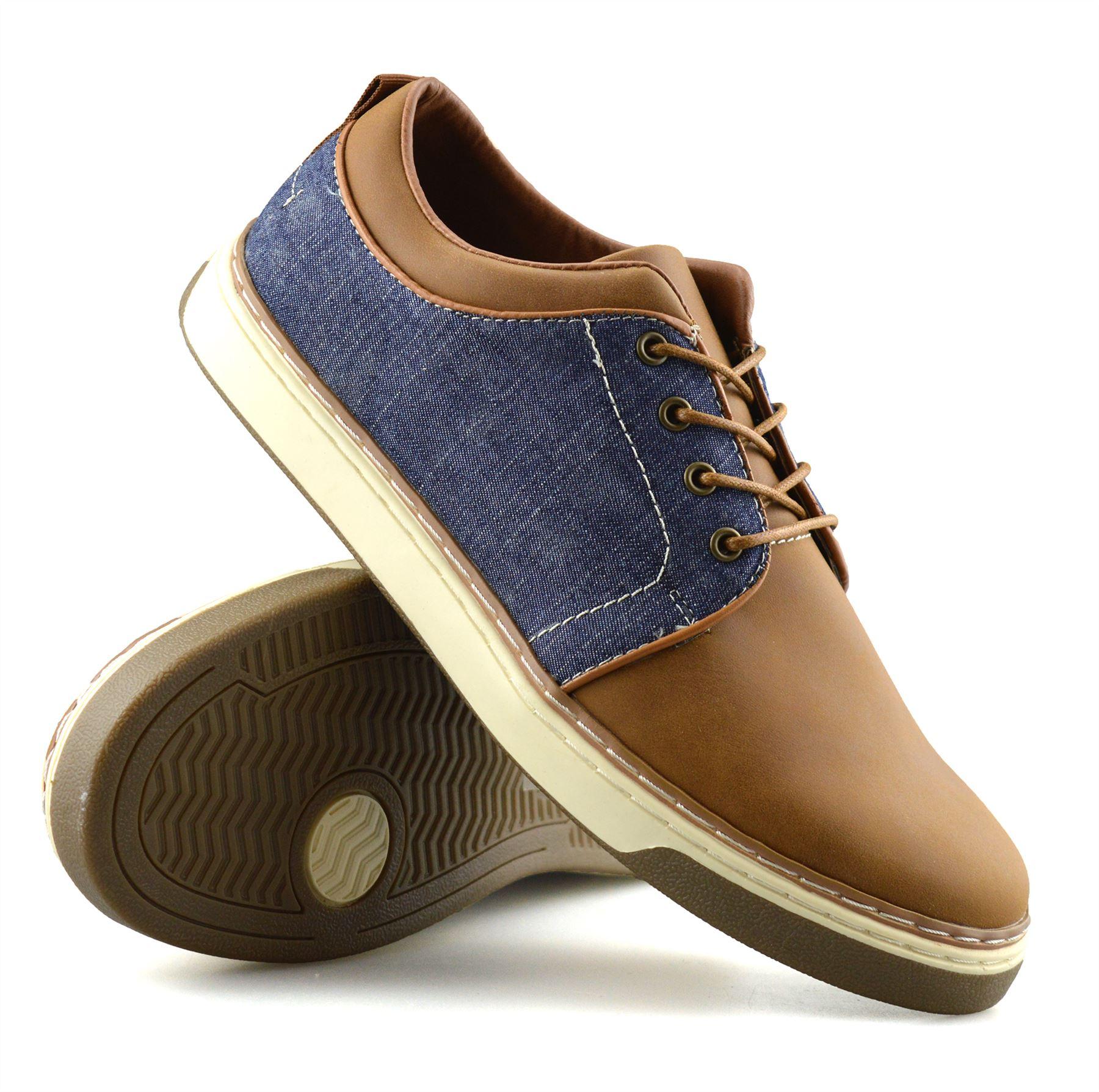 Homme-Nouveau-Casual-Smart-bateau-pont-Mocassin-Walking-Driving-Work-Lace-Up-Chaussures-Taille miniature 23