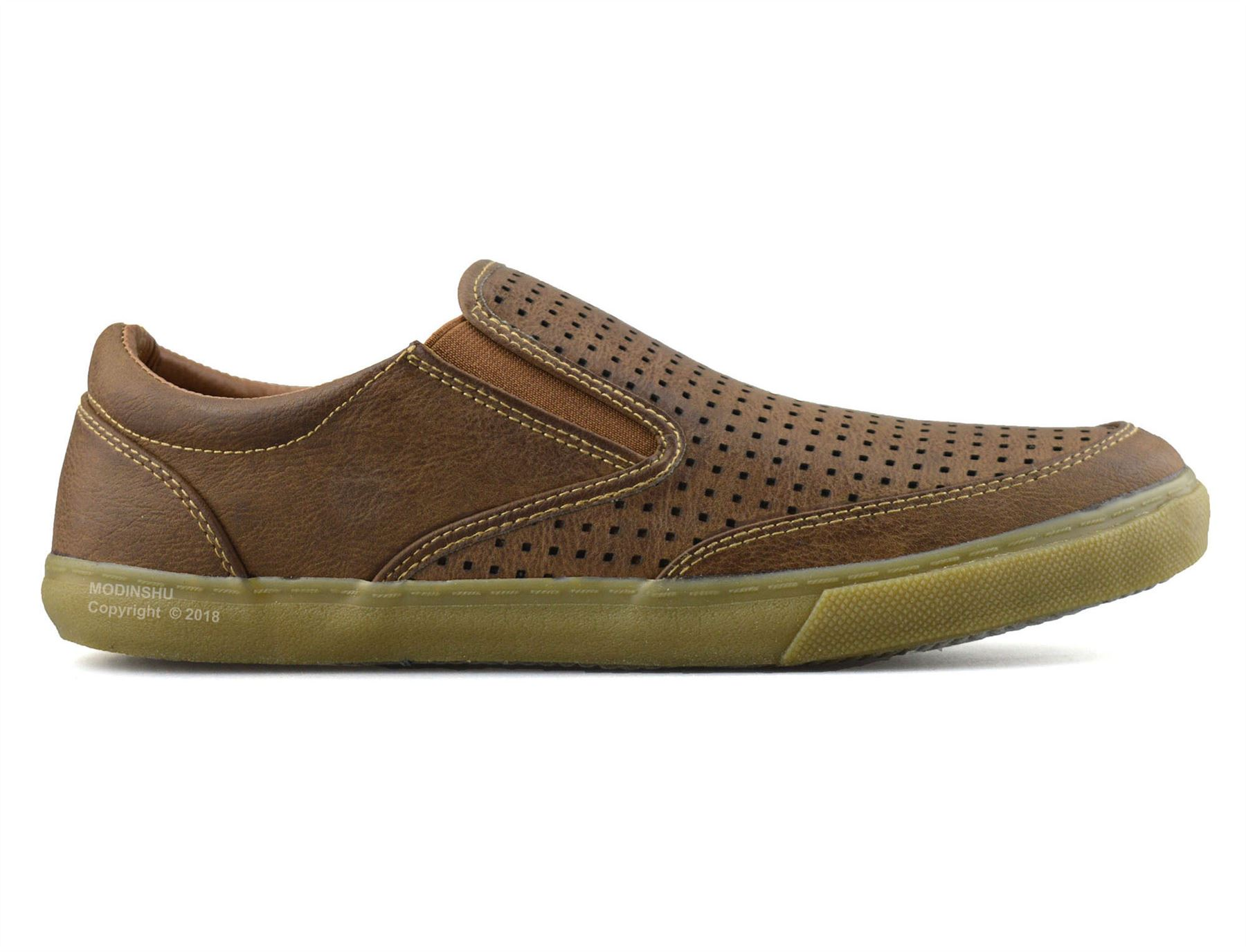 Mens-Casual-Smart-Slip-On-Walking-Moccasin-Loafers-Driving-Deck-Boat-Shoes-Size thumbnail 10