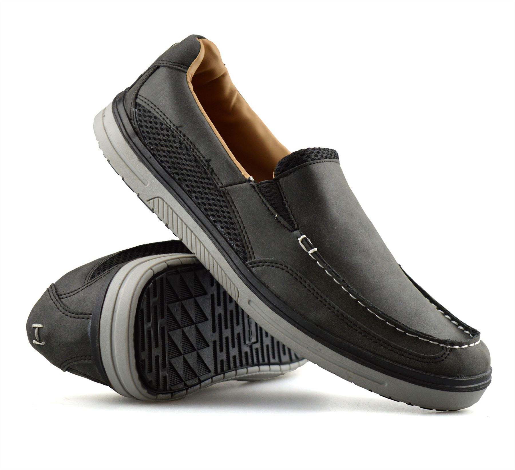 Mens-Casual-Memory-Foam-Slip-On-Walking-Loafers-Moccasin-Driving-Boat-Shoes-Size thumbnail 16