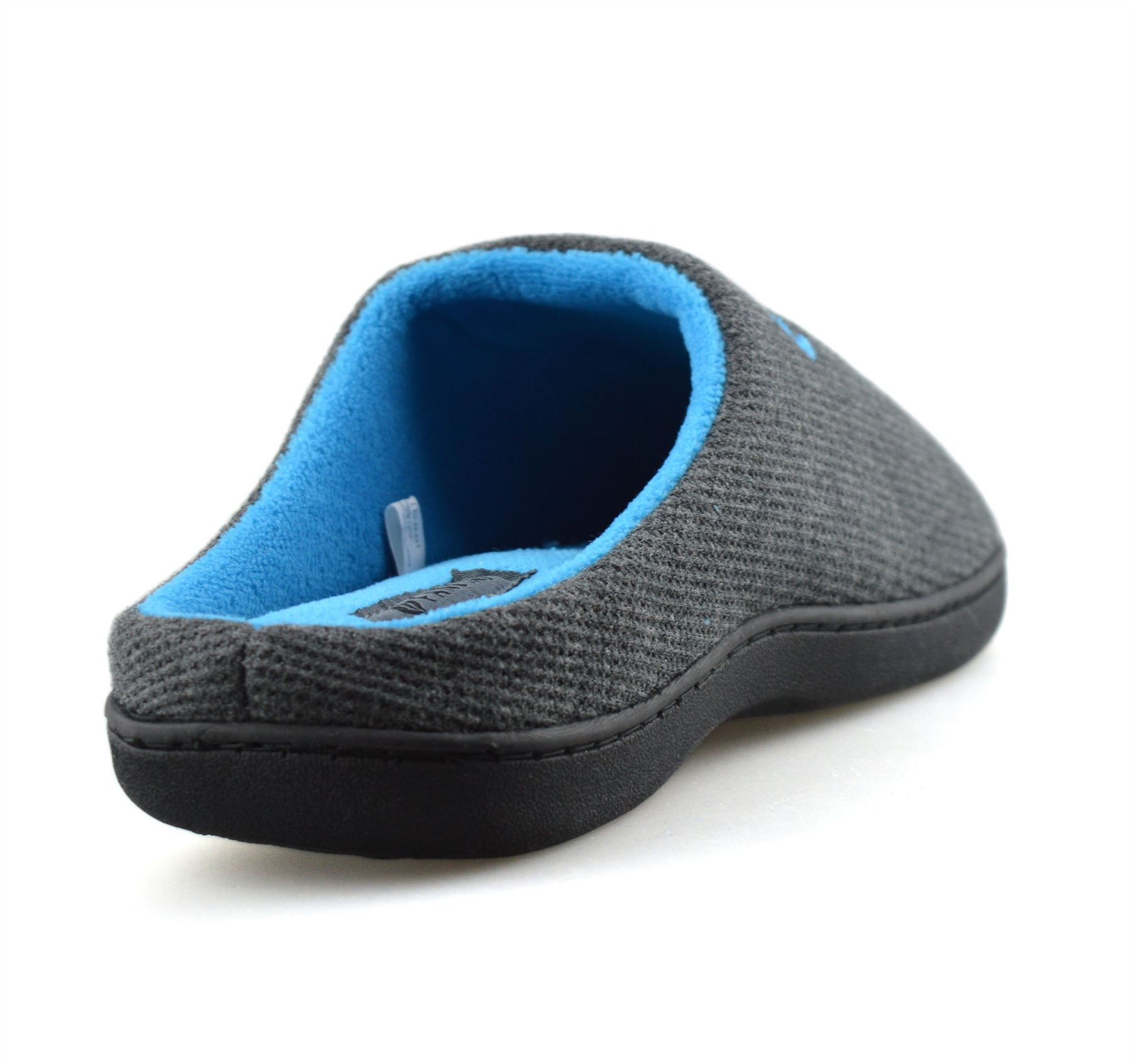 Mens-Memory-Foam-Warm-Fleece-Lined-Cotton-Slippers-Slip-On-Clog-Mules-Shoes-Size thumbnail 22
