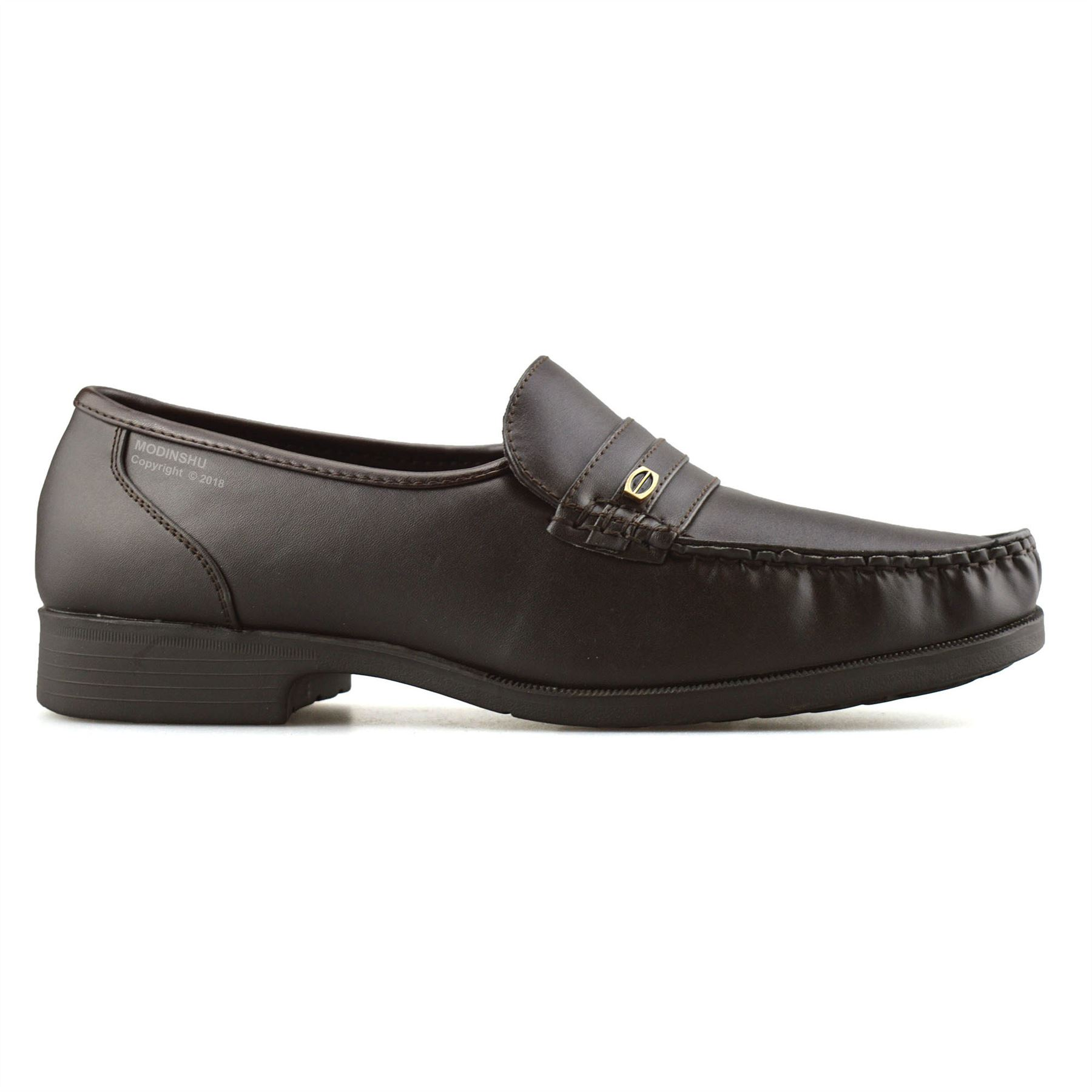 Mens-New-Slip-On-Casual-Smart-Memory-Foam-Mocassin-Designer-Loafers-Shoes-Size thumbnail 20
