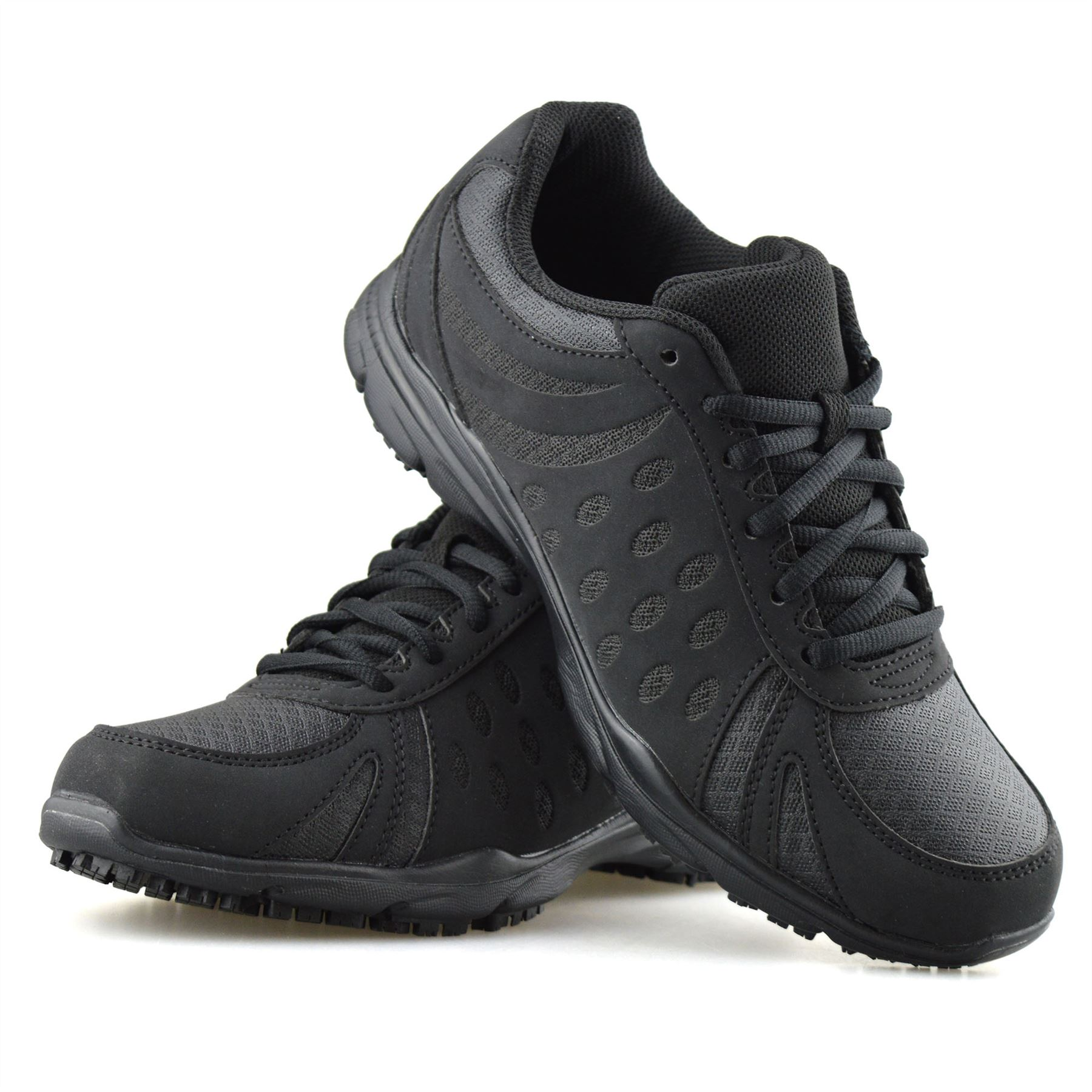 Ladies Womens Wide Fit Casual Lace Up
