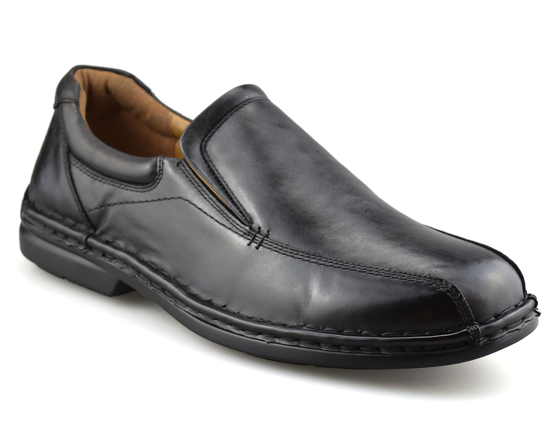 Mens-Hush-Puppies-Leather-Wide-Fit-Smart-Casual-Lace-Up-Work-Office-Shoes-Size thumbnail 15