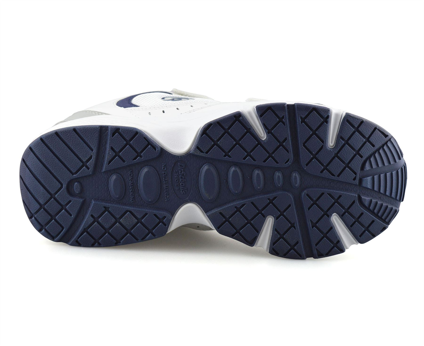 Mens-Dr-Scholls-Wide-Fit-Leather-Casual-Walking-Gym-Comfort-Trainers-Shoes-Size thumbnail 13