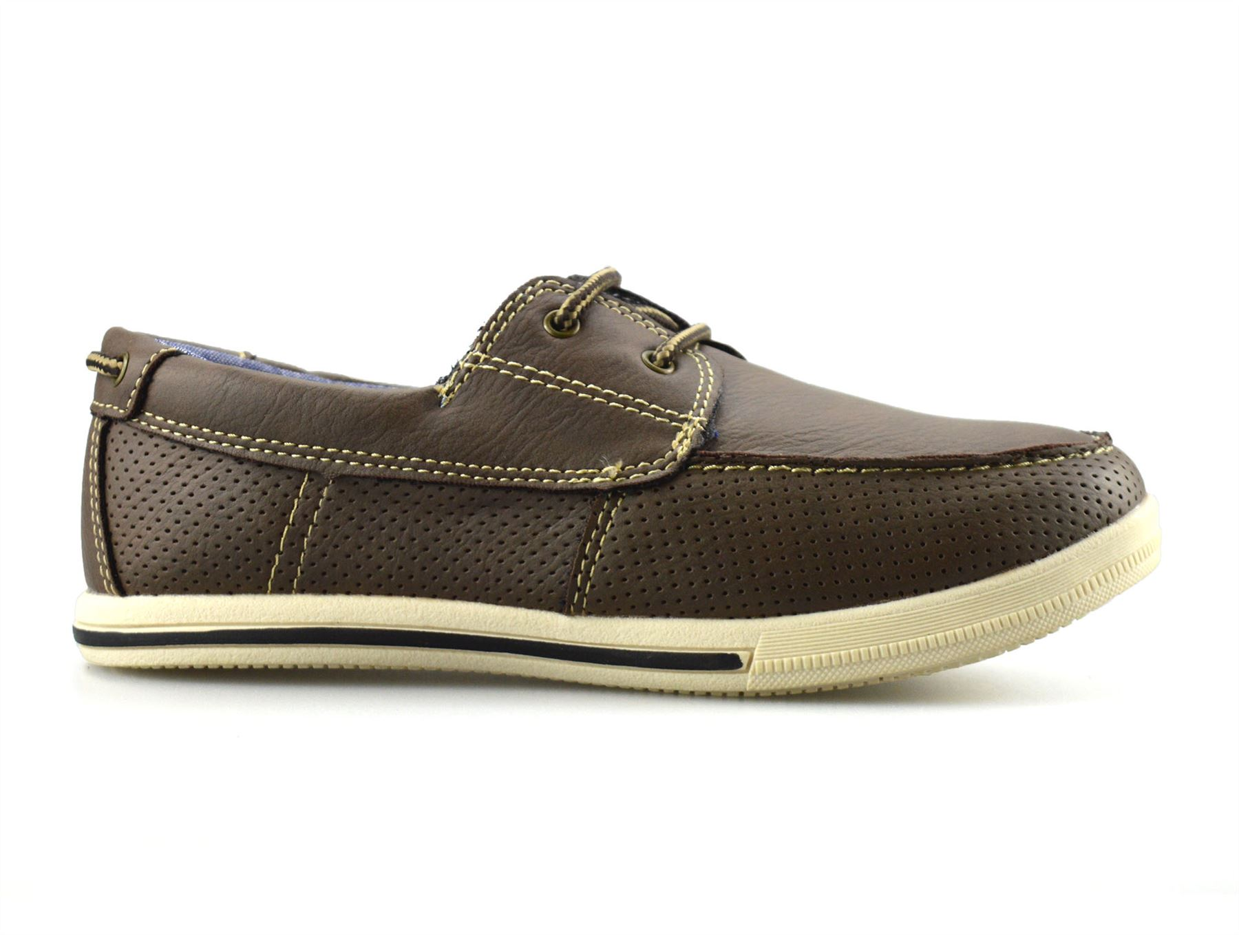 Boys-Kids-Casual-Summer-Lace-Up-Smart-Walking-School-Trainers-Boat-Shoes-Size thumbnail 8