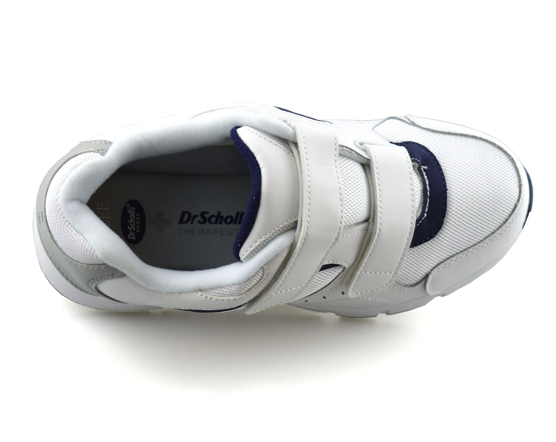 Mens-Dr-Scholls-Wide-Fit-Leather-Casual-Walking-Gym-Comfort-Trainers-Shoes-Size thumbnail 12