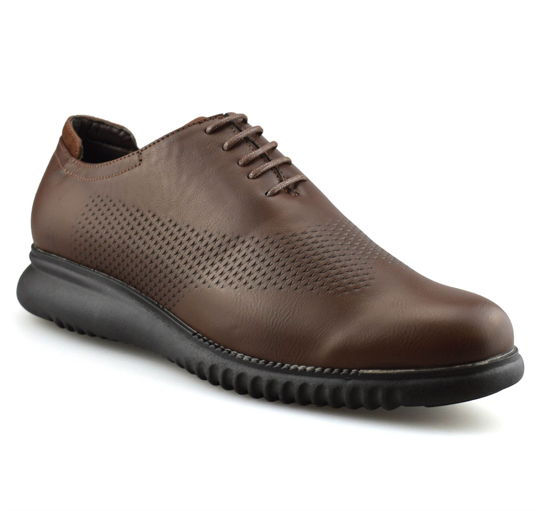 Mens-Casual-Smart-Lace-Up-Oxford-Brogue-Walking-Work-Office-Trainers-Shoes-Size thumbnail 19