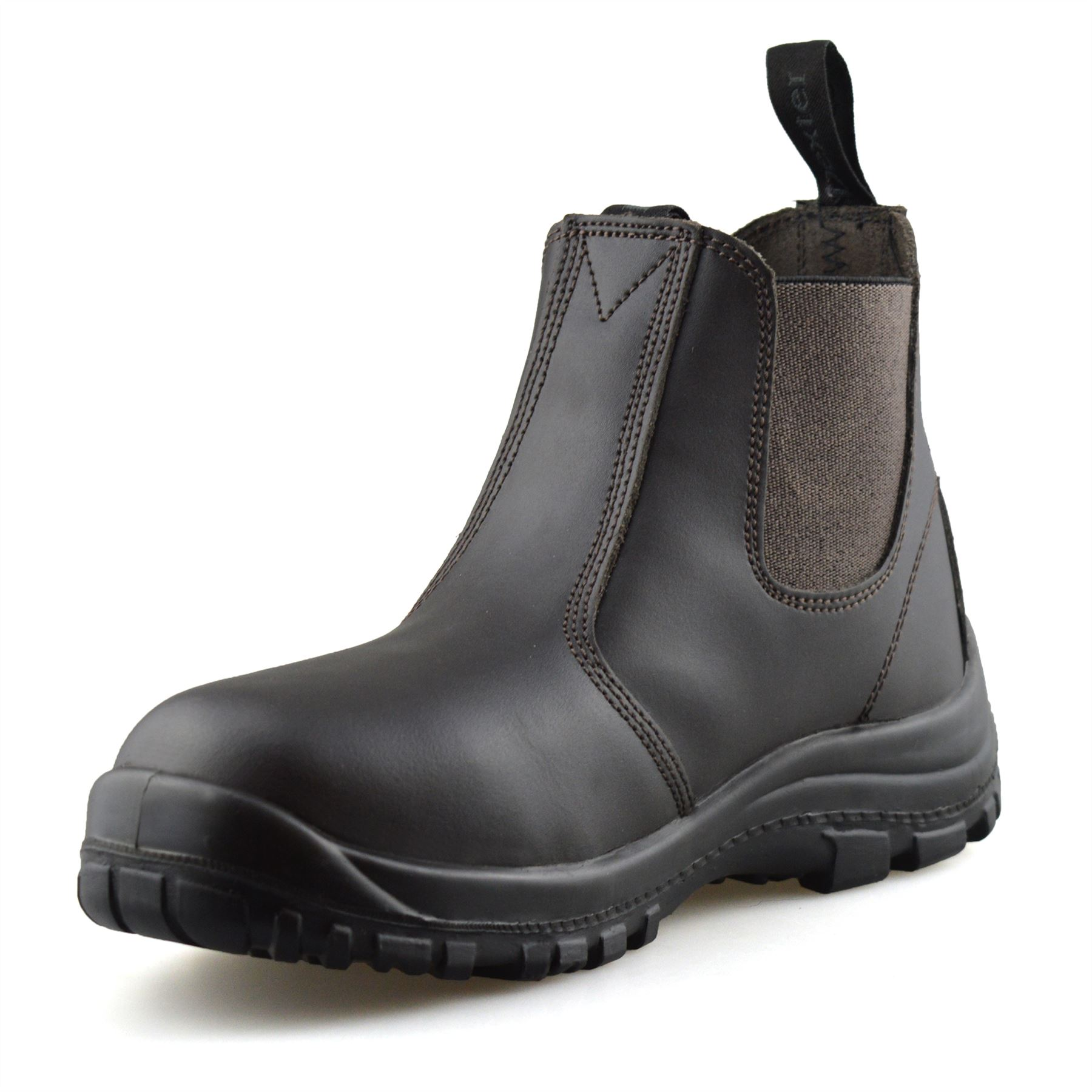 Mens-Leather-Wide-Fit-Chelsea-Ankle-Boots-Casual-Smart-Dealer-Work-Shoes-Size thumbnail 11