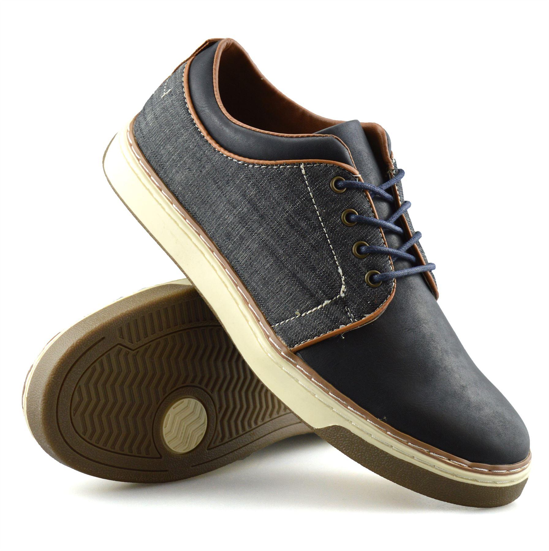 Homme-Nouveau-Casual-Smart-bateau-pont-Mocassin-Walking-Driving-Work-Lace-Up-Chaussures-Taille miniature 17
