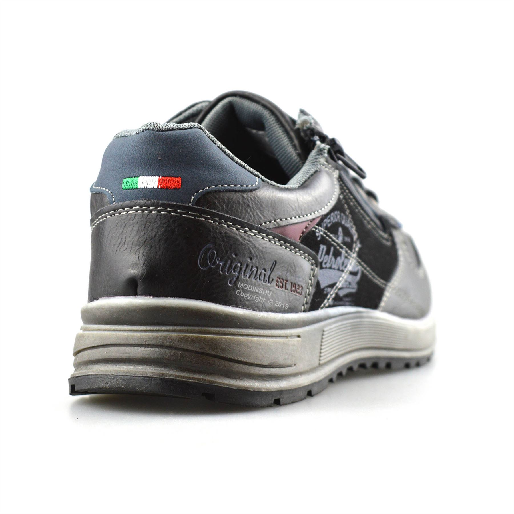 Mens-Casual-Zip-Lace-Up-Walking-Running-Hiking-Sports-Gym-Trainers-Shoes-Size thumbnail 10