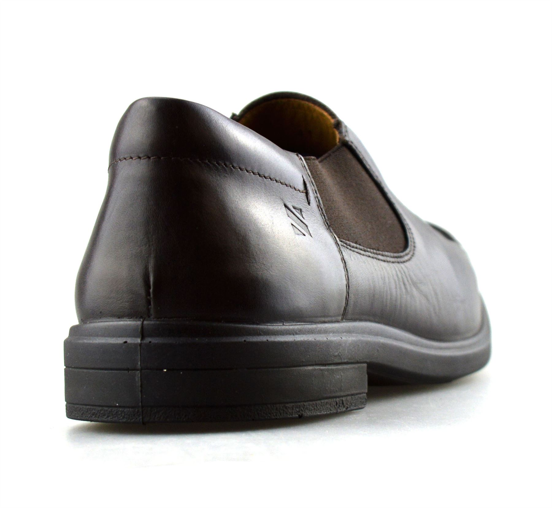 Mens-Leather-Slip-On-Casual-Smart-Designer-Mocassin-Work-Loafers-Shoes-Size thumbnail 10