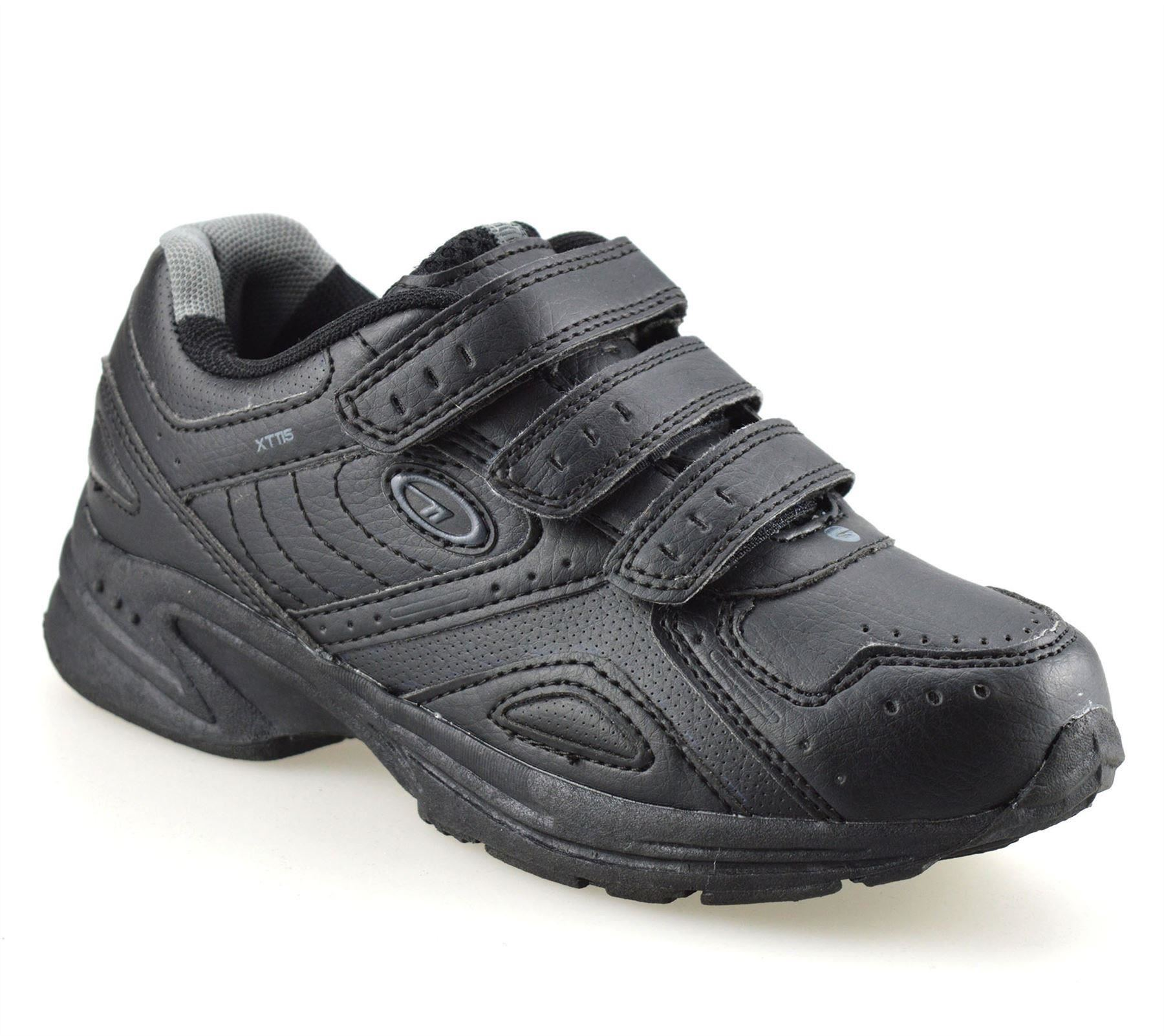 Boys-Kids-New-Hi-Tec-Smart-Casual-Touch-Strap-Back-To-School-Trainers-Shoes-Size thumbnail 9