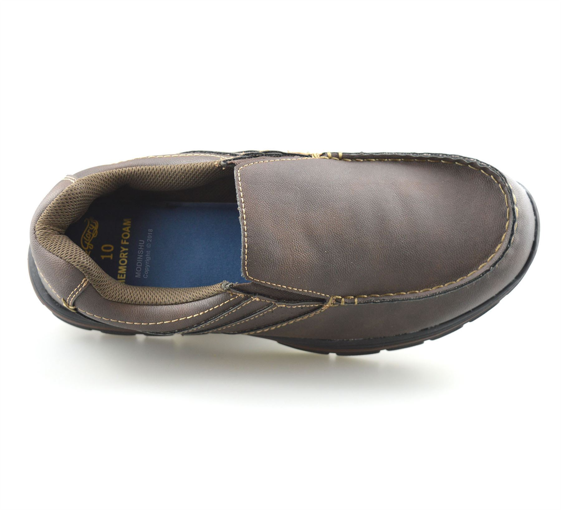 Mens-Casual-Memory-Foam-Slip-On-Walking-Moccasin-Loafers-Driving-Boat-Shoes-Size thumbnail 21