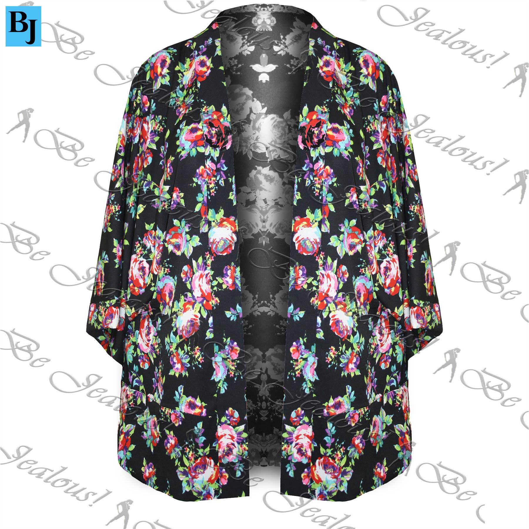 Femme-femmes-kimono-vintage-veste-cape-hippie-manteau-retro-loose-fit-blazer-top